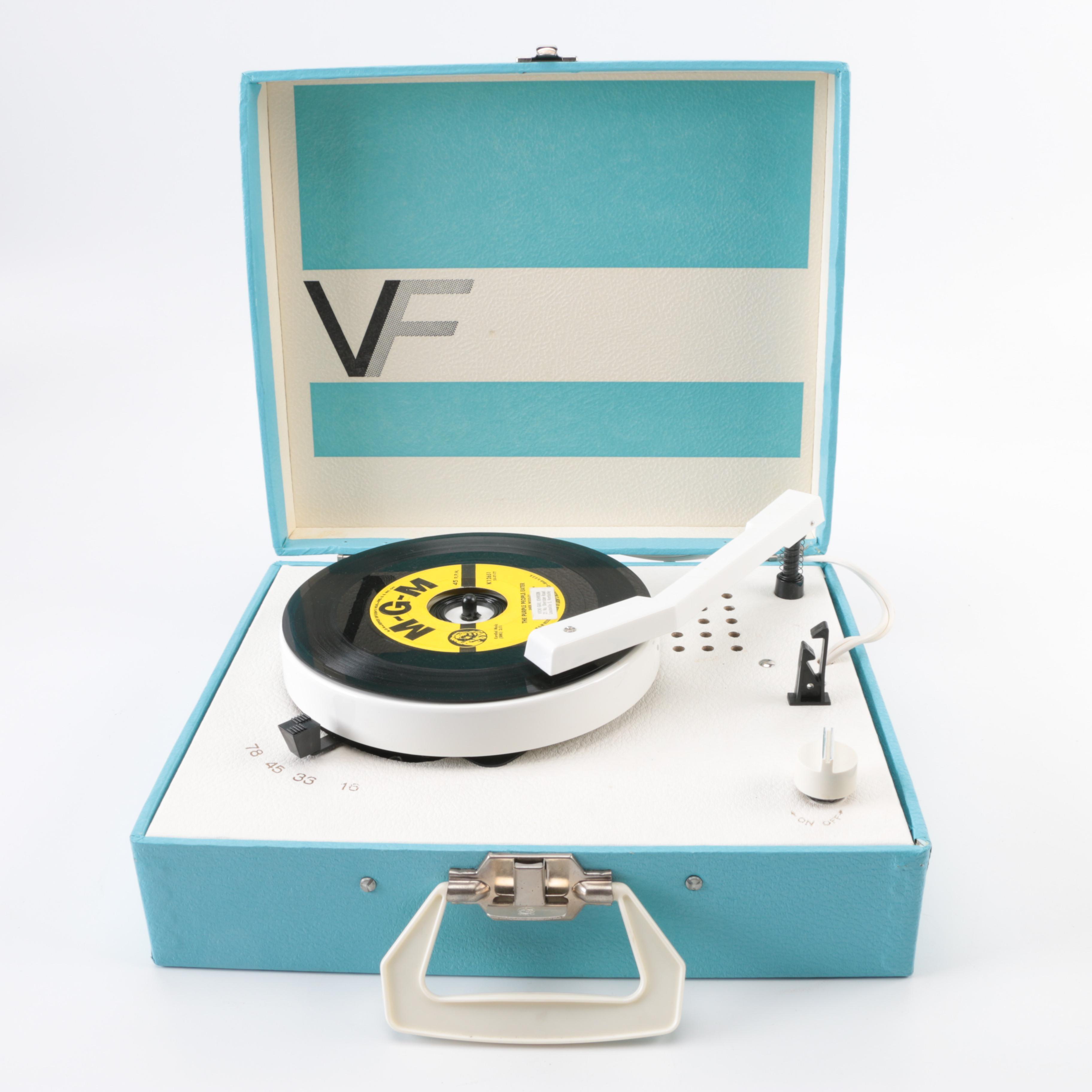VF Portable Record Player