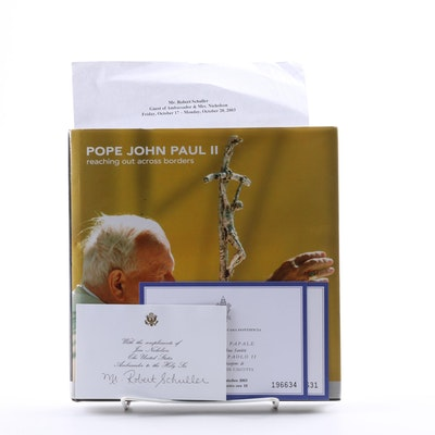 "2003 Signed ""Pope John Paul II: Reaching Out Across Borders"""