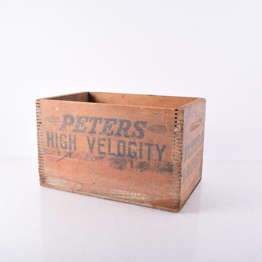 Dupont Peters High Velocity Shot Shell Box