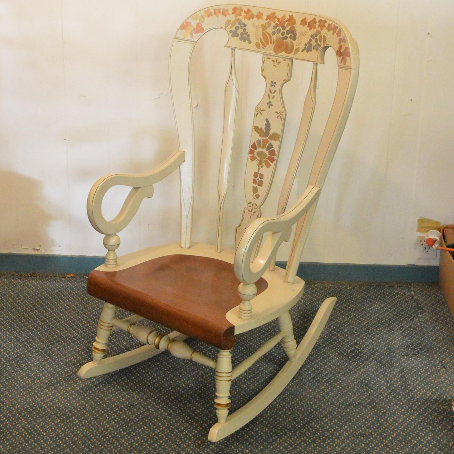 """""""Homestead"""" Painted Wood Rocking Chair by Ethan Allen"""