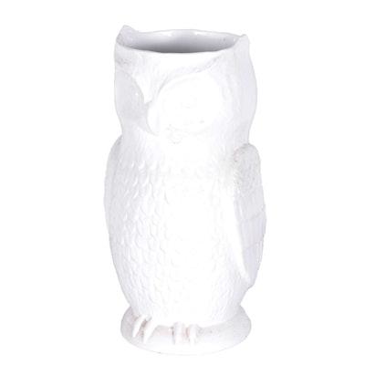 White Owl Umbrella Stand