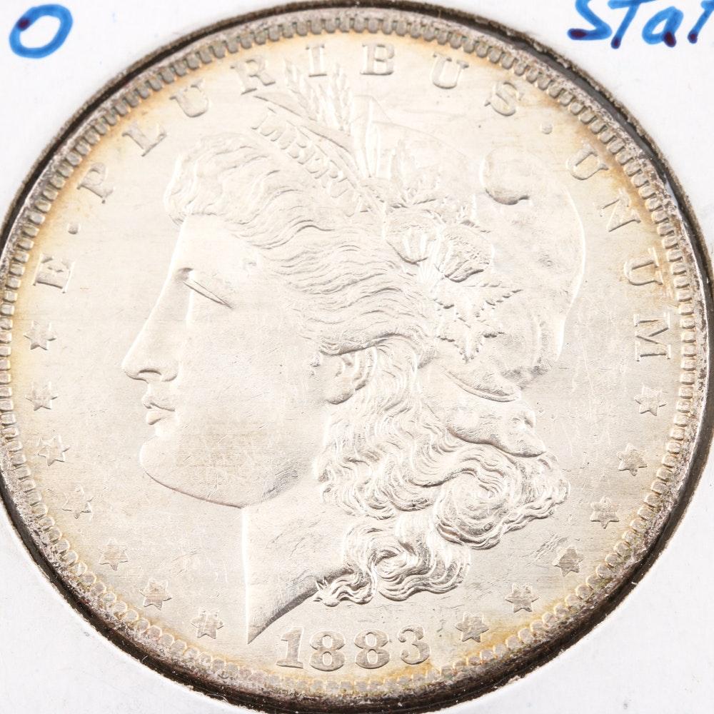 1883 O Silver Morgan Dollar