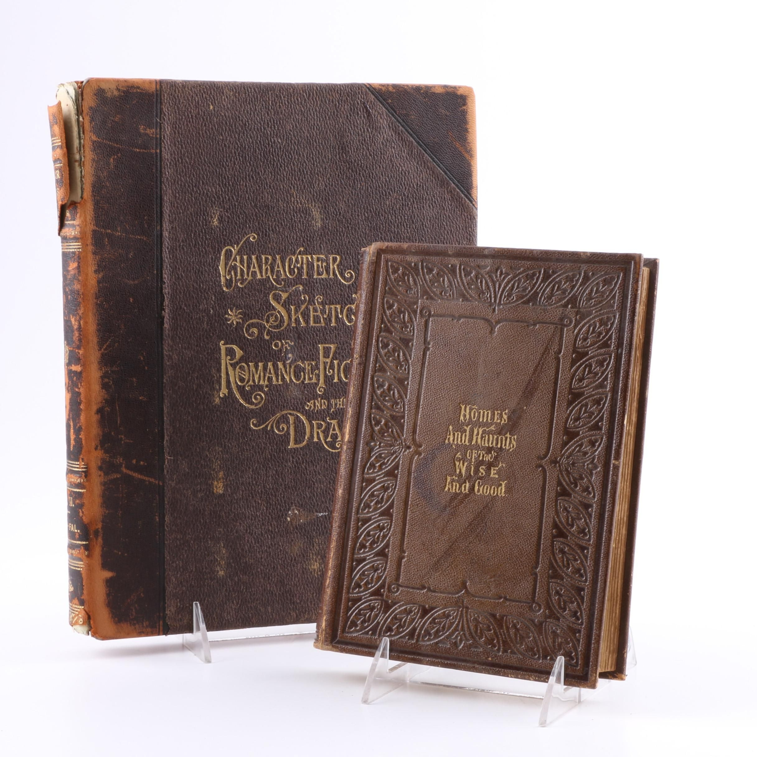 Two Antique Books from Robert Schuller's Library