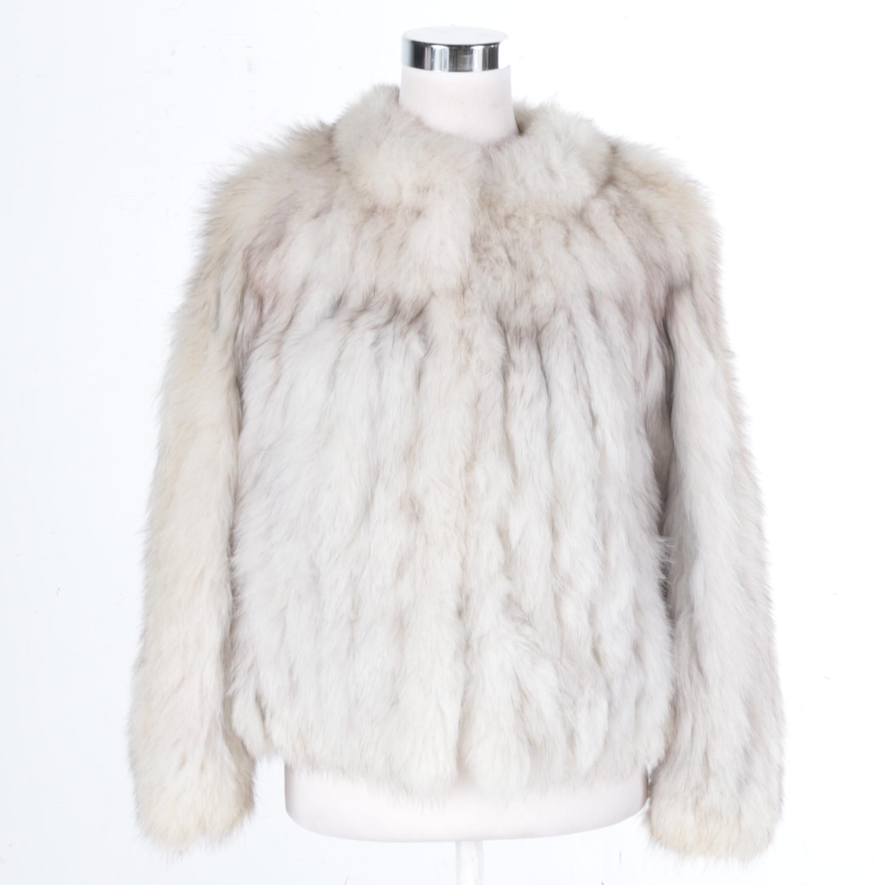 Fox Fur Jacket by Shillito's Fur Salon