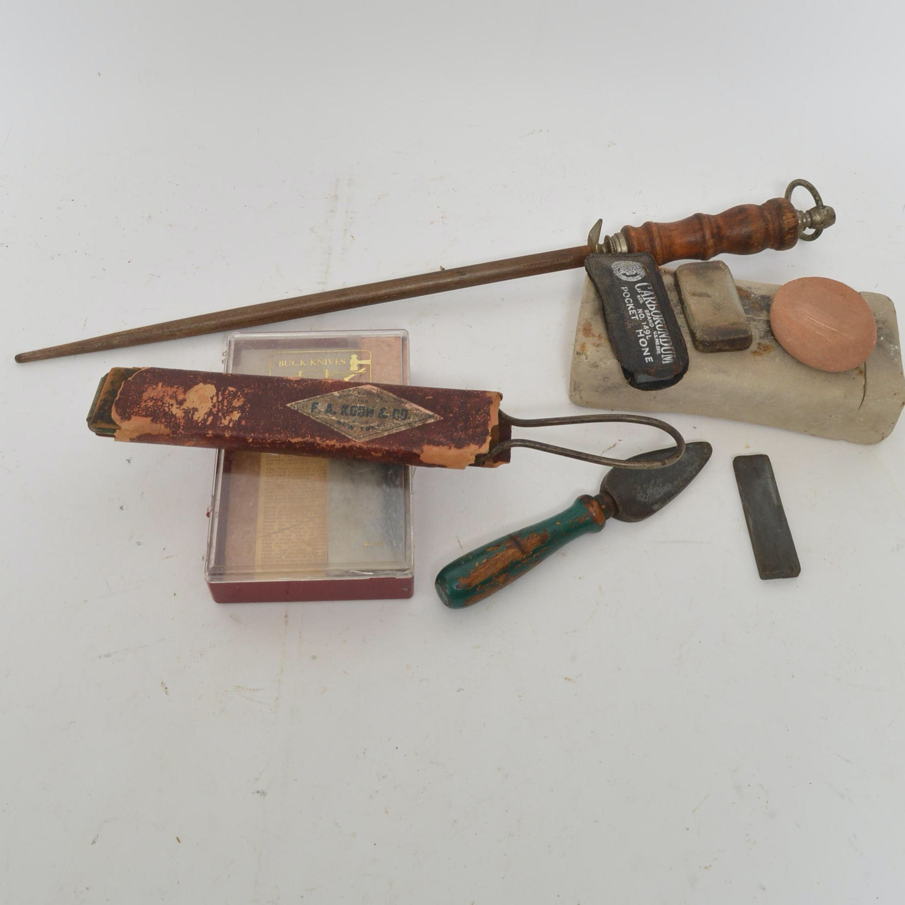 Vintage Sharpening Stones and Tools