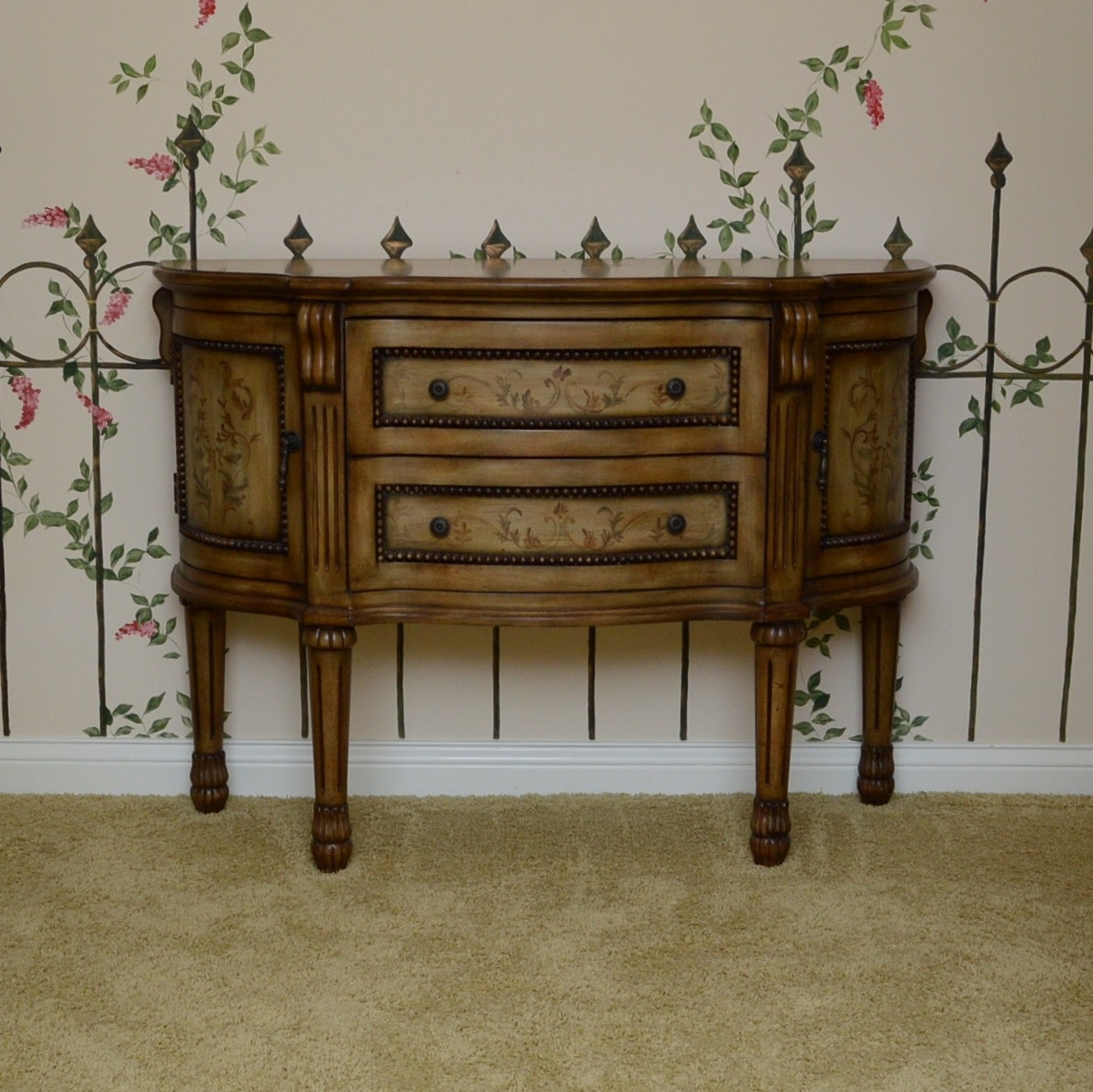 French Provincial Style Reproduction Sideboard