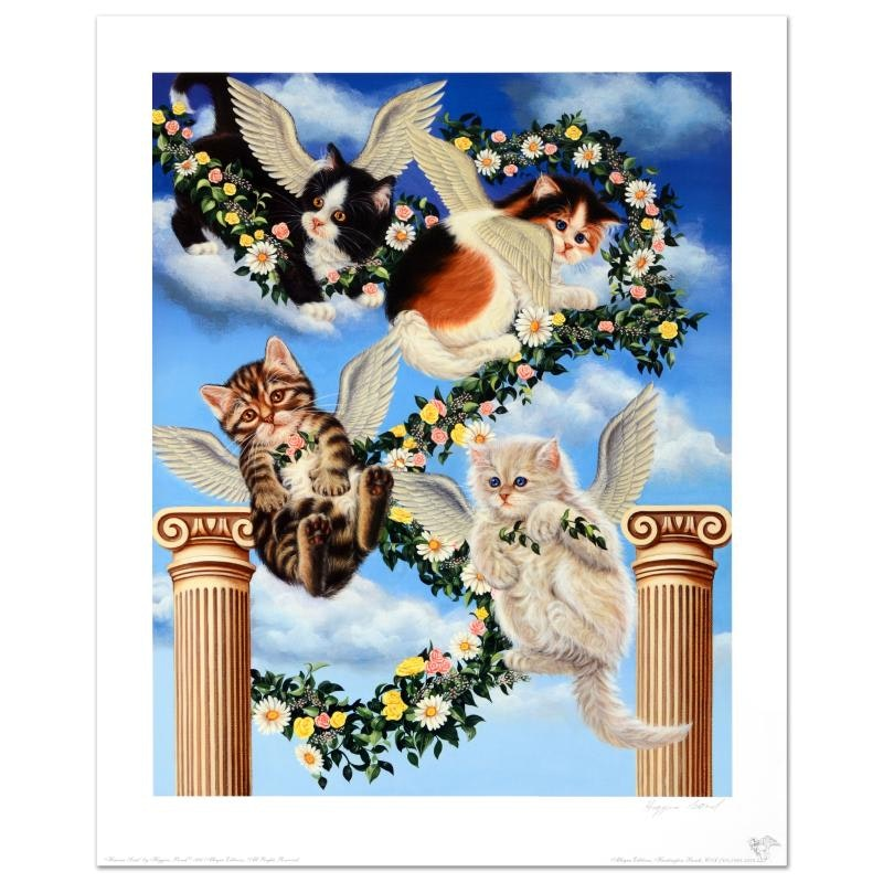 "Barbara Higgins-Bond ""Heaven Sent"" Limited Edition Lithograph"
