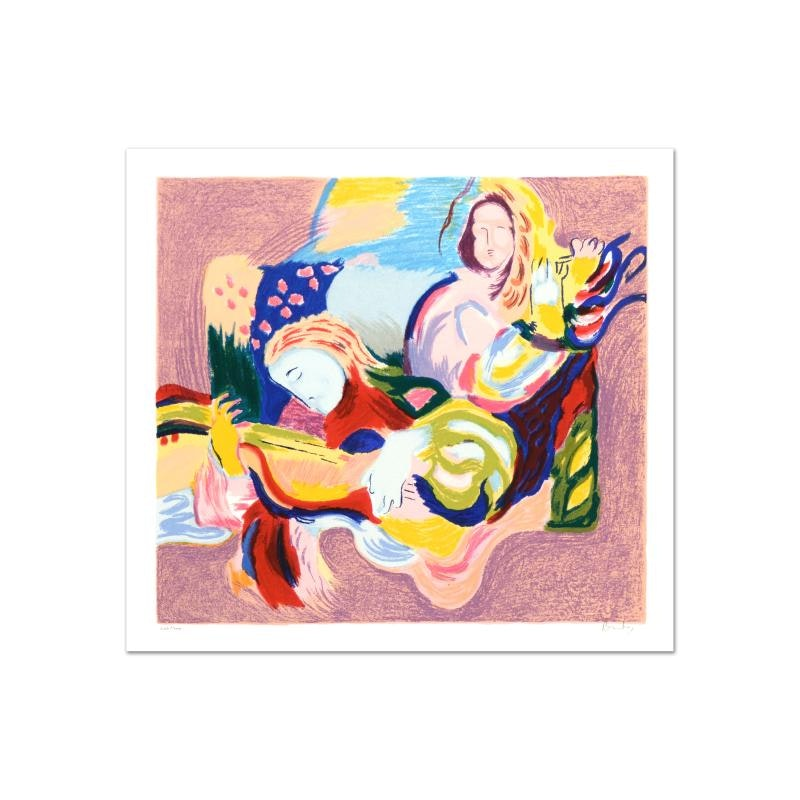 "David Bovetez ""Fiesta"" Limited Edition Lithograph"