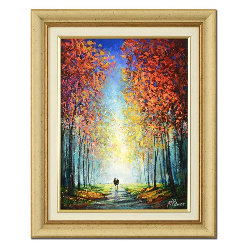 Mark Braver Framed Oil Painting on Canvas