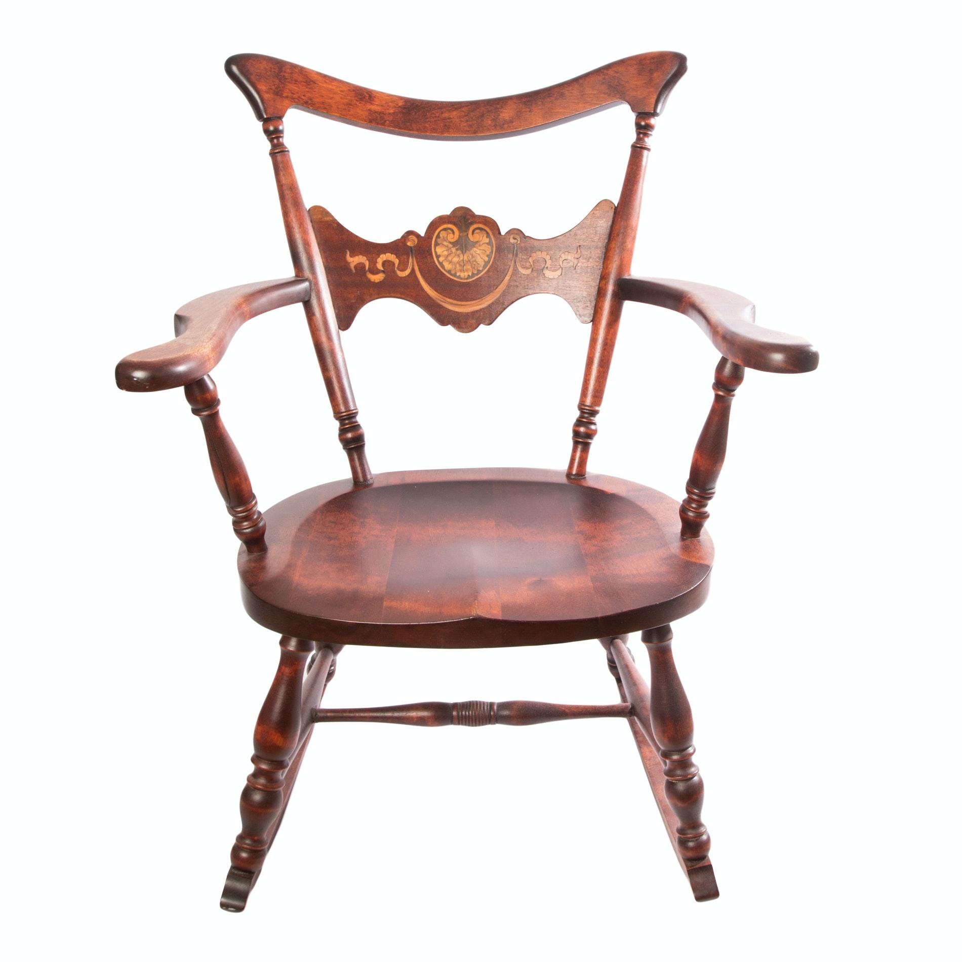 Early 20th Century Mahogany Rocking Chair