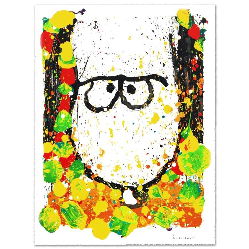 """Tom Everhart """"Squeeze the Day-Monday"""" Limited Edition Hand Pulled Original Lithograph"""