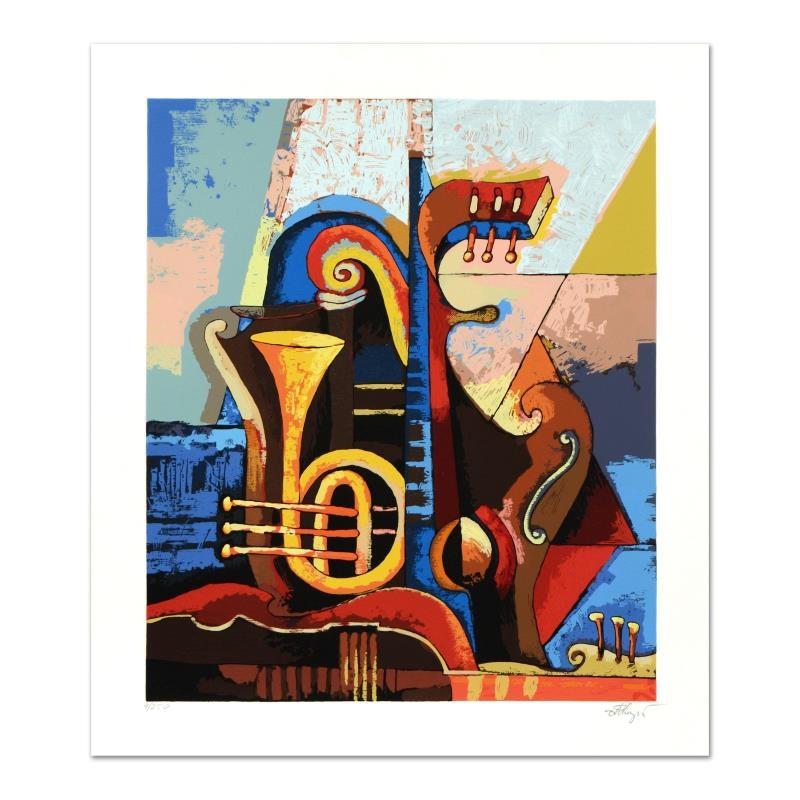 """Igor Kovalev """"Symphony IV"""" Limited Edition Serigraph"""