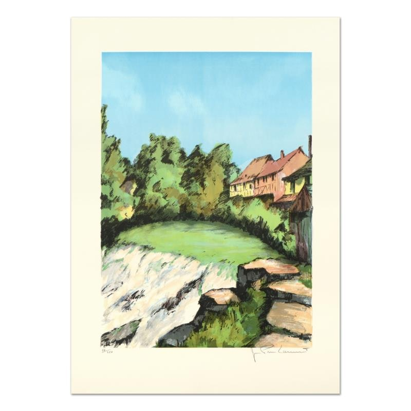 "Laurant ""St. Tropez"" Limited Edition Lithograph"