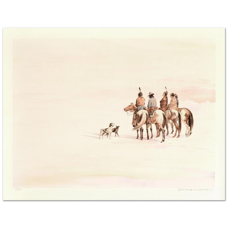 "William Nelson ""Search for a New Land"" Limited Edition Lithograph"