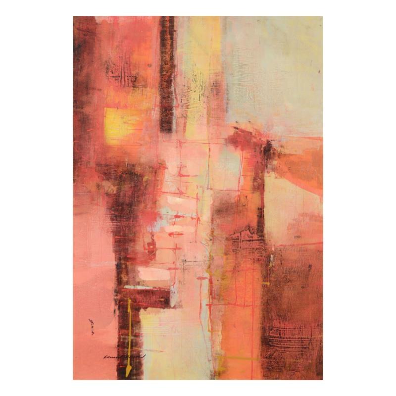 Gabriella Villarreal Original Mixed Media Acrylic Painting on Canvas