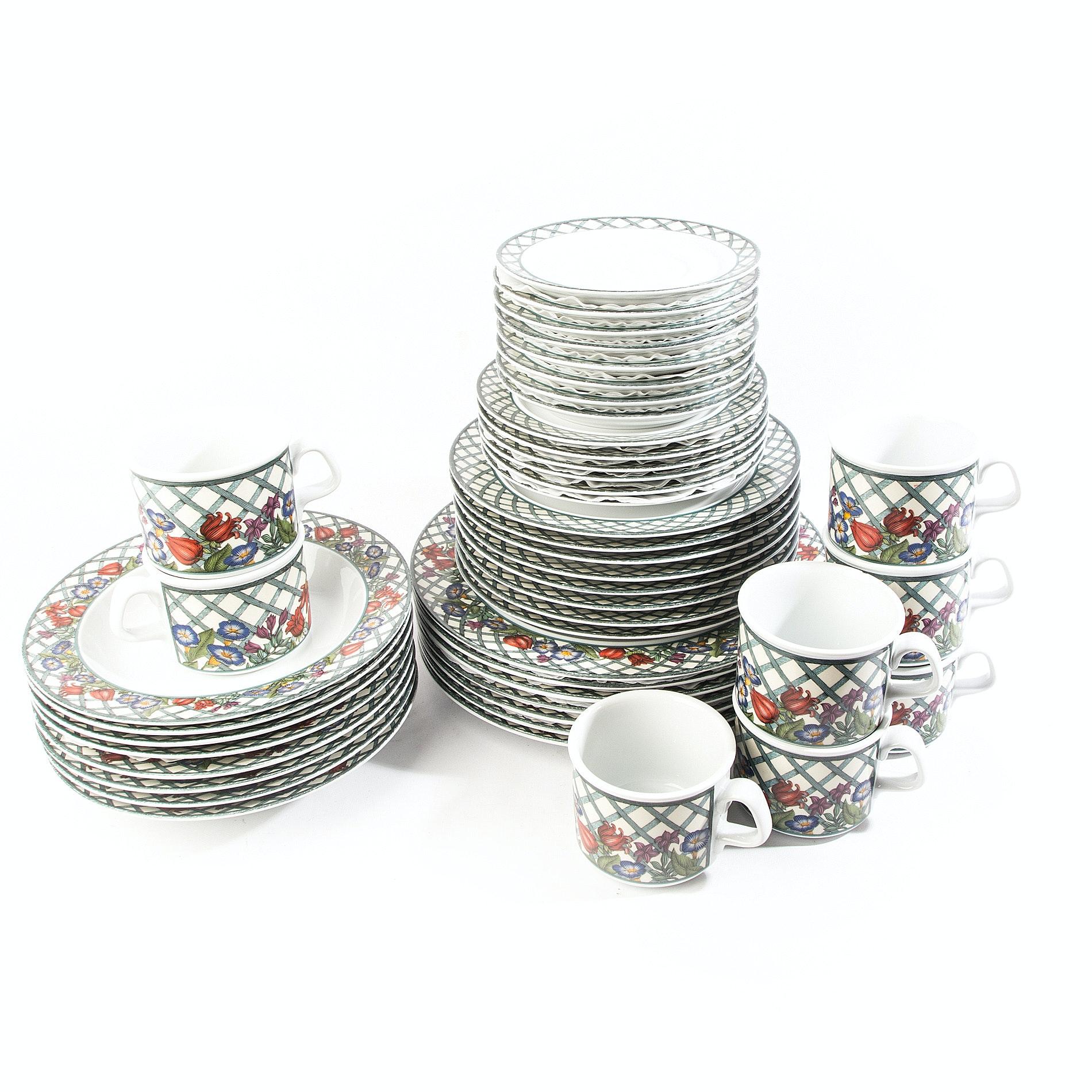 Dansk \ Nordic Garden\  Porcelain Dinnerware ...  sc 1 st  EBTH.com & Dansk \