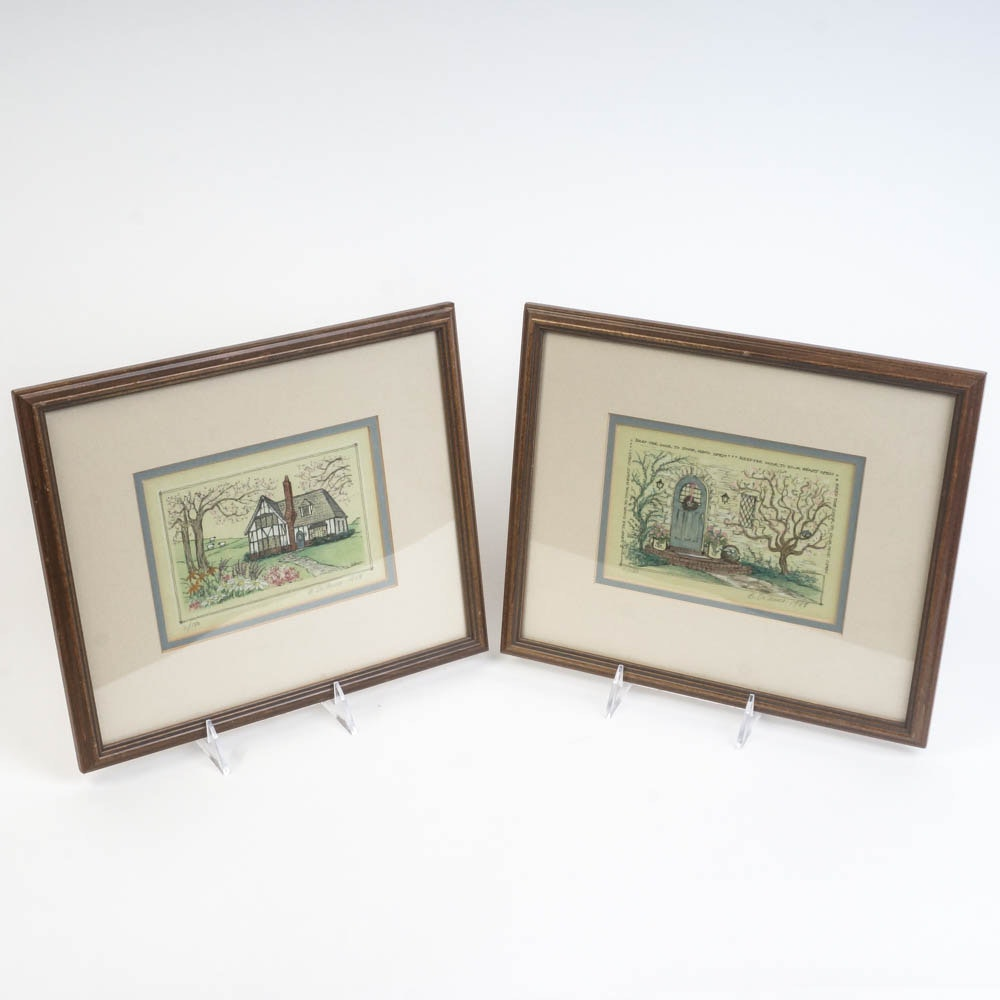 Betsy DeFusco Framed Limited Edition Prints