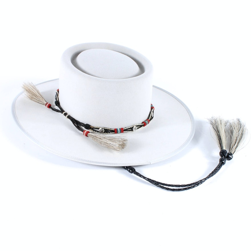 Custom Beaver Hat by Rand s Custom Hatters   EBTH 78867cc65aa