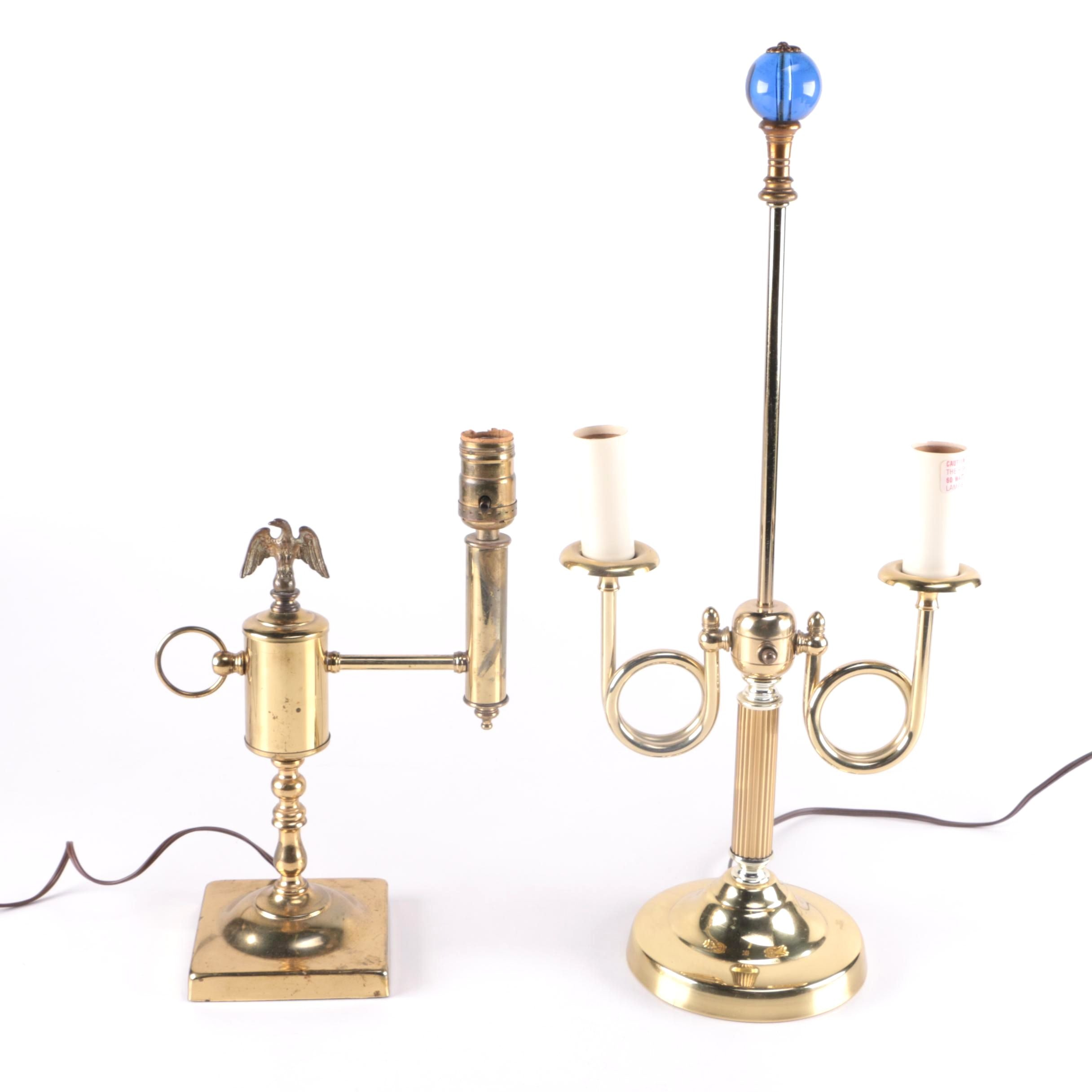 Vintage Brass Table lamps