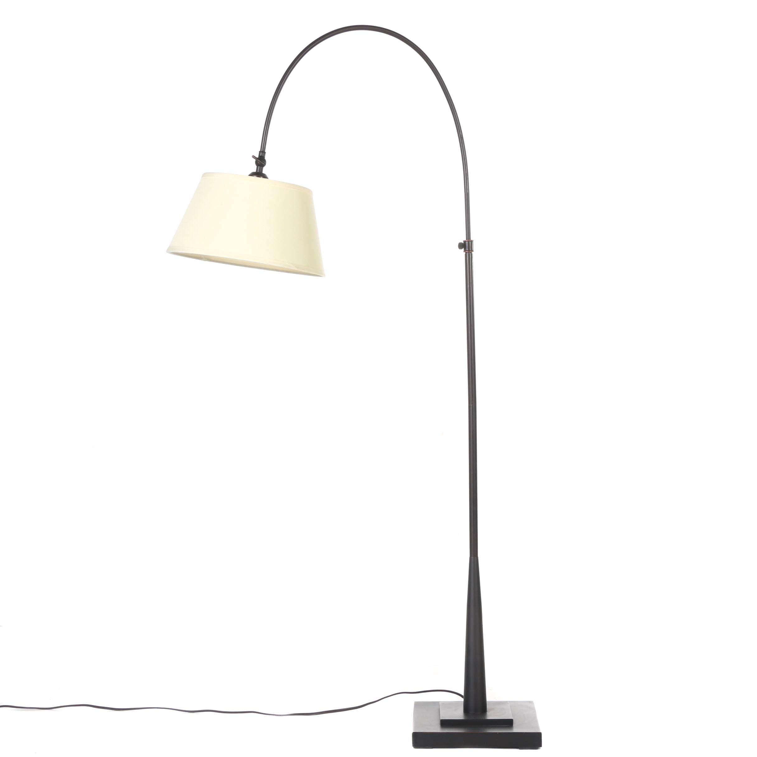 Adjustable Arc Floor Lamp ...