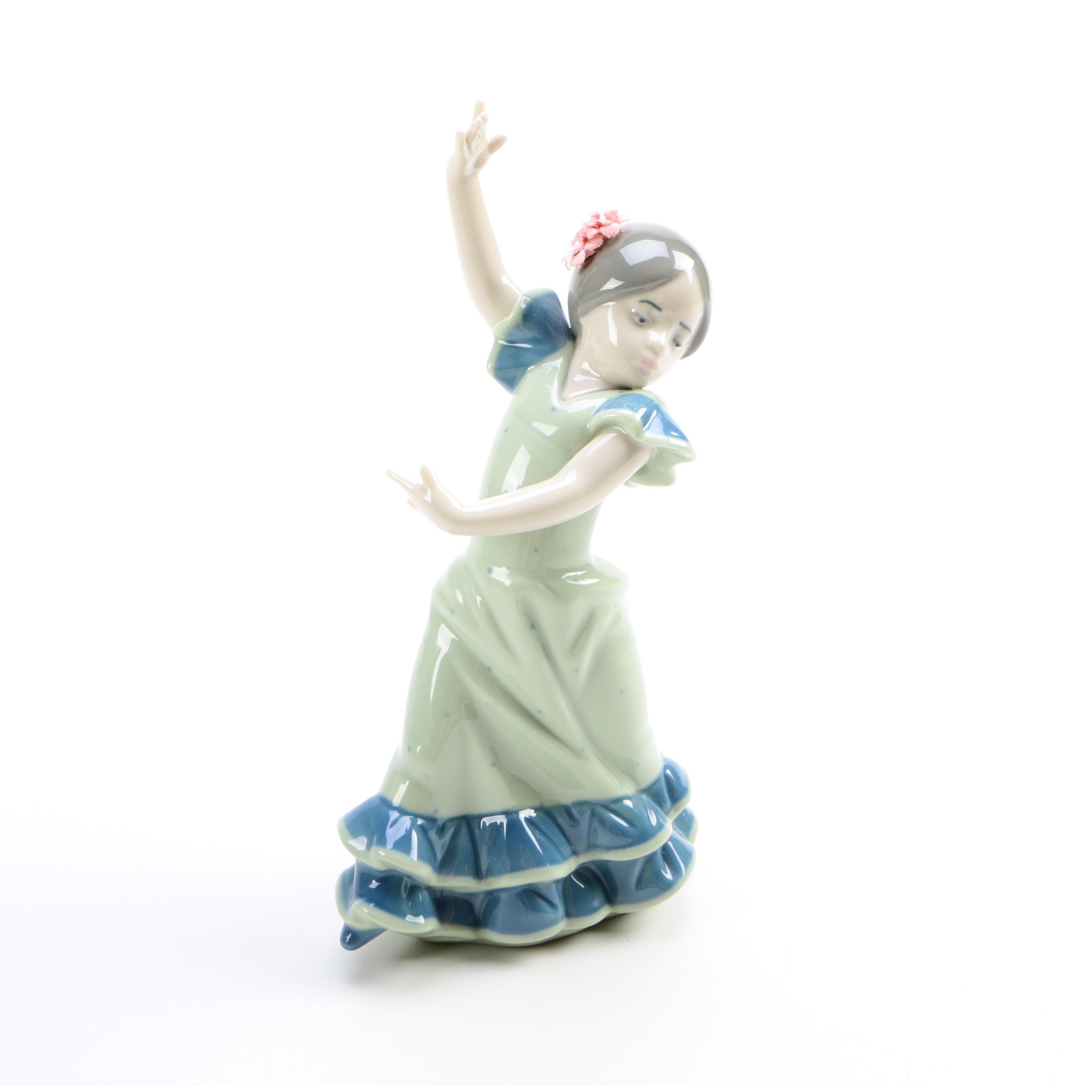 "1984 Lladró ""Lolita"" Porcelain Figurine"