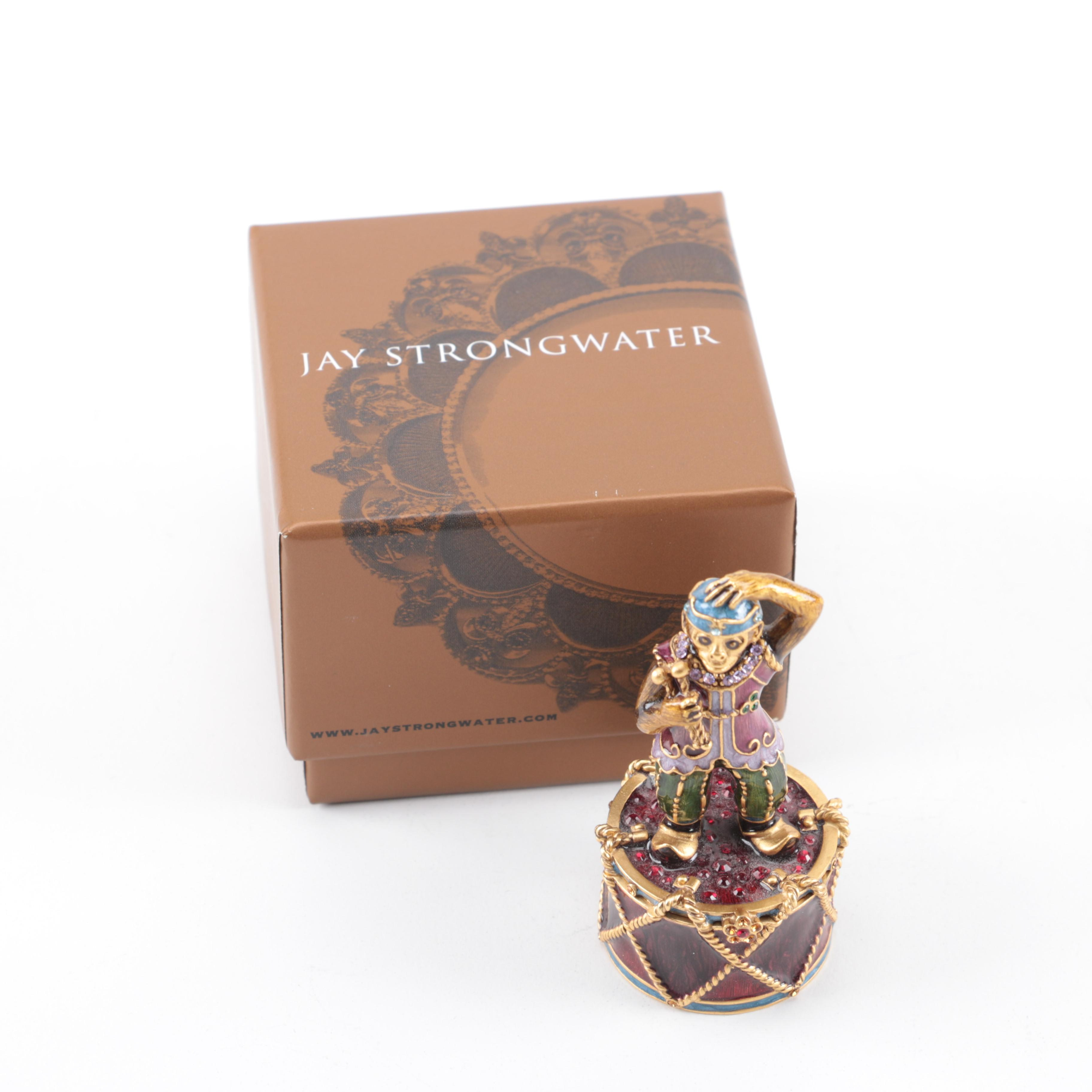 "Jay Strongwater ""Toma"" Trinket Box"