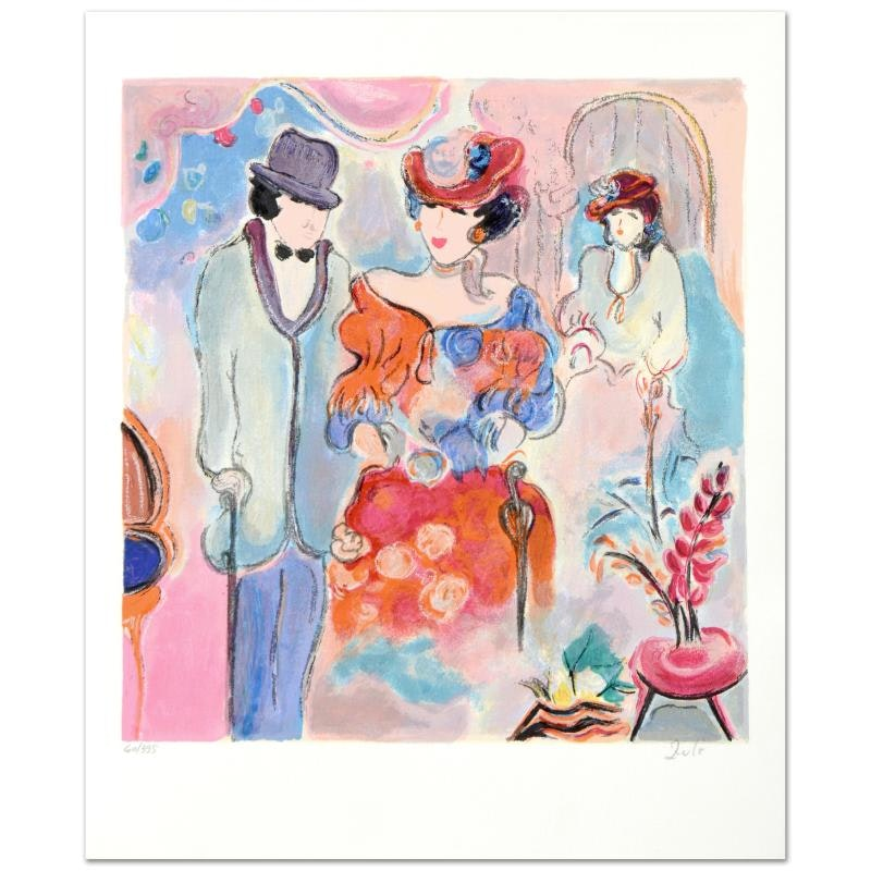 """Zule  """"Spring"""" Limited Edition Serigraph"""