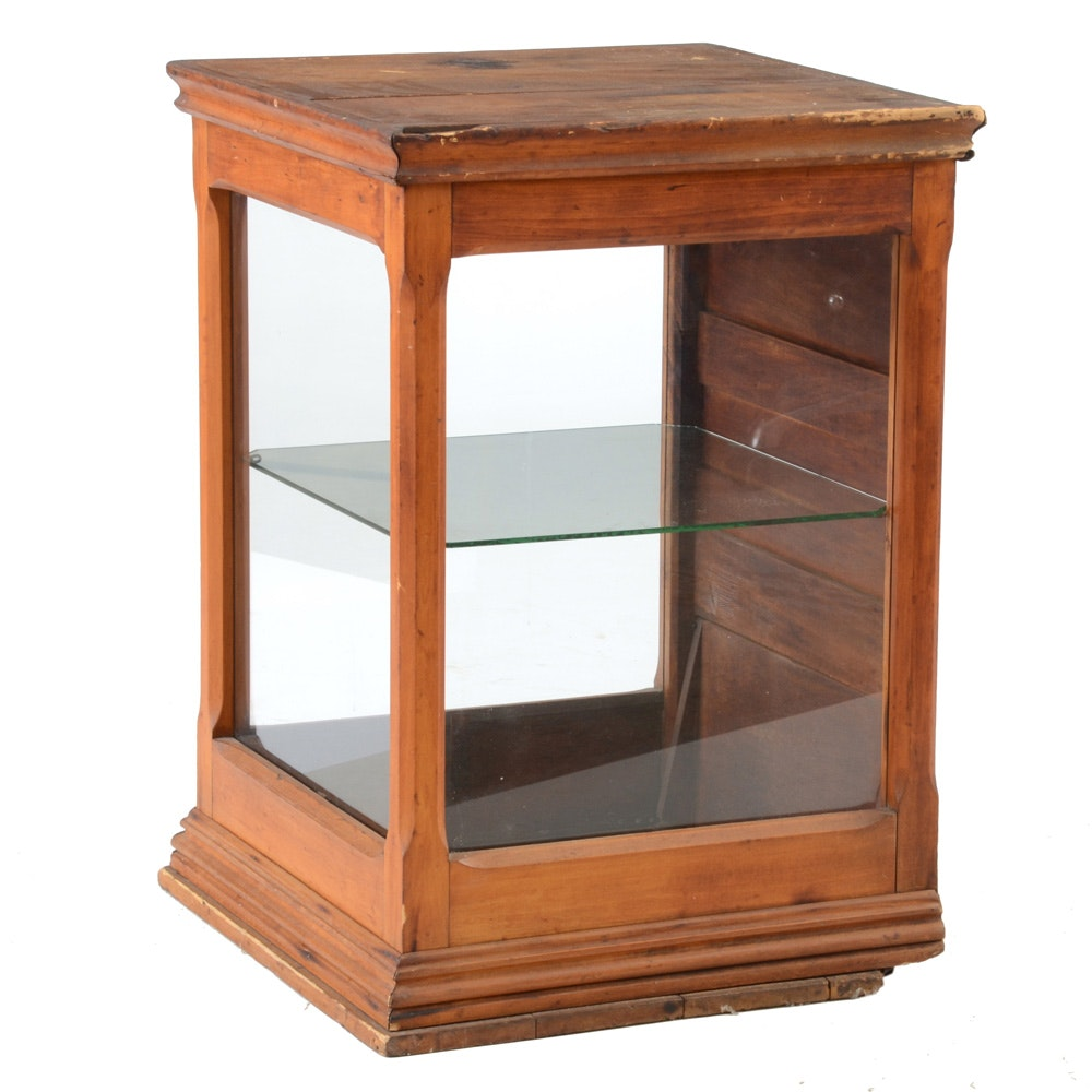 Antique Retail Display Case
