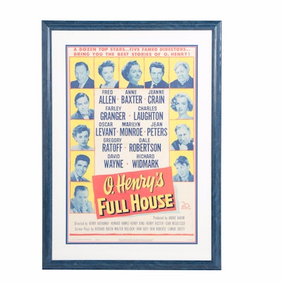 "1952 Movie Poster for ""O. Henry's Full House"""