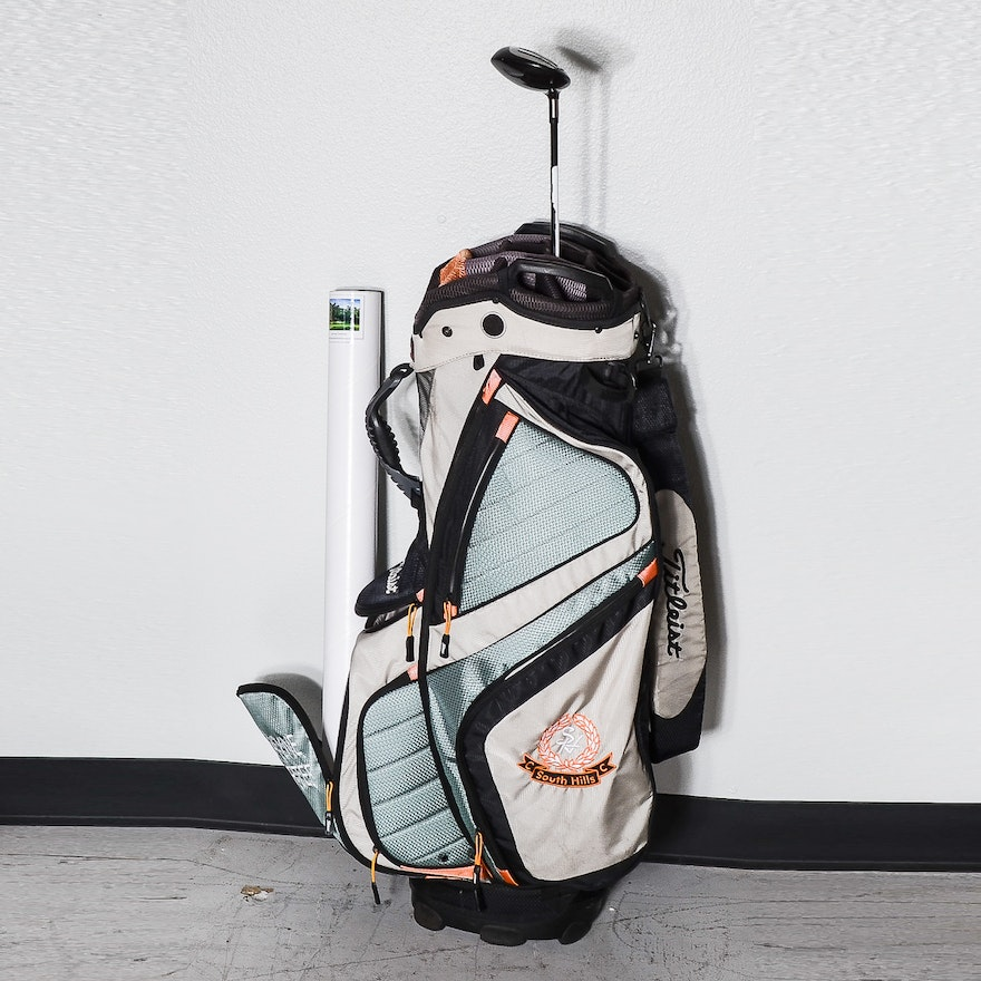 Golf Carry Bag And Club