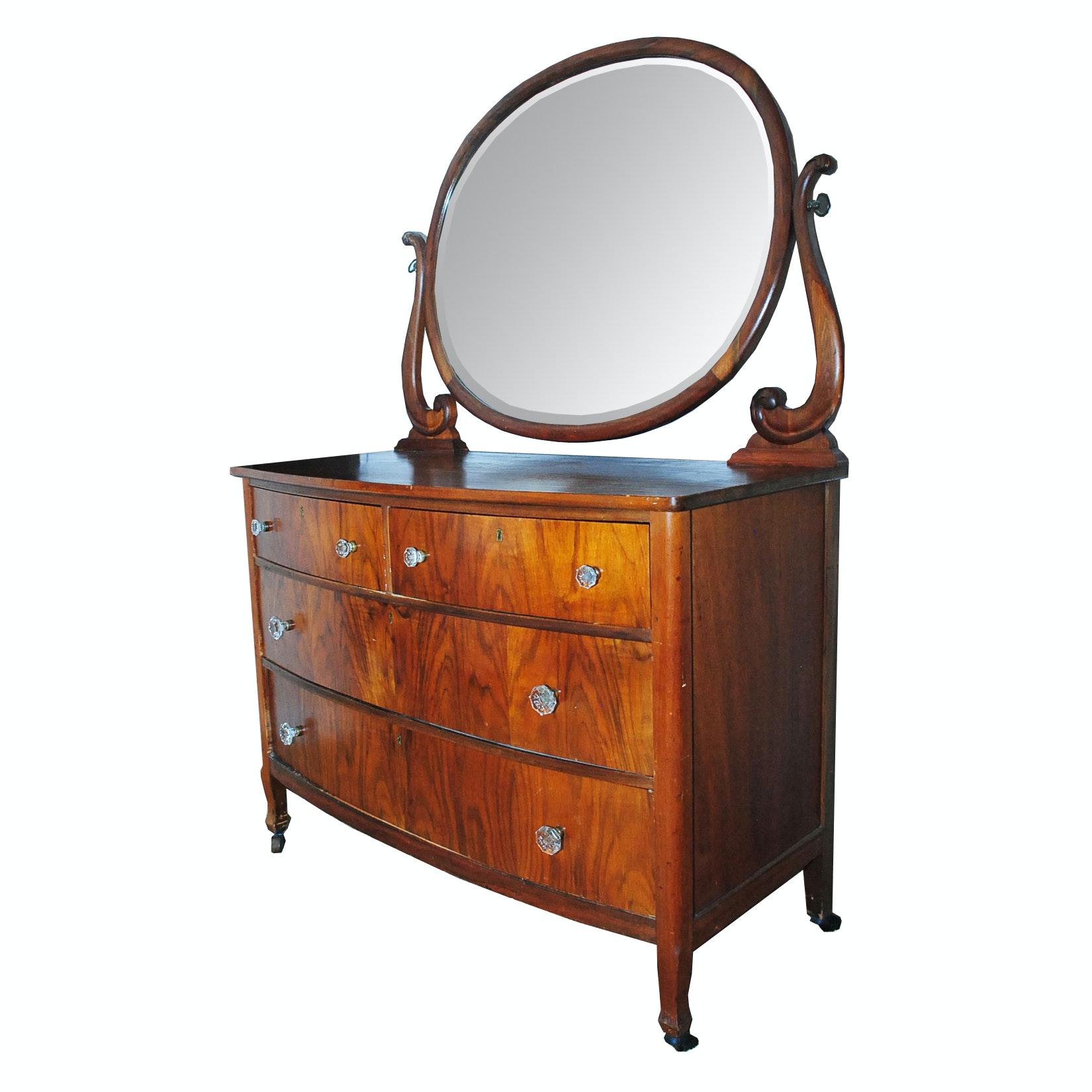 Vintage Art Nouveau Style Dresser