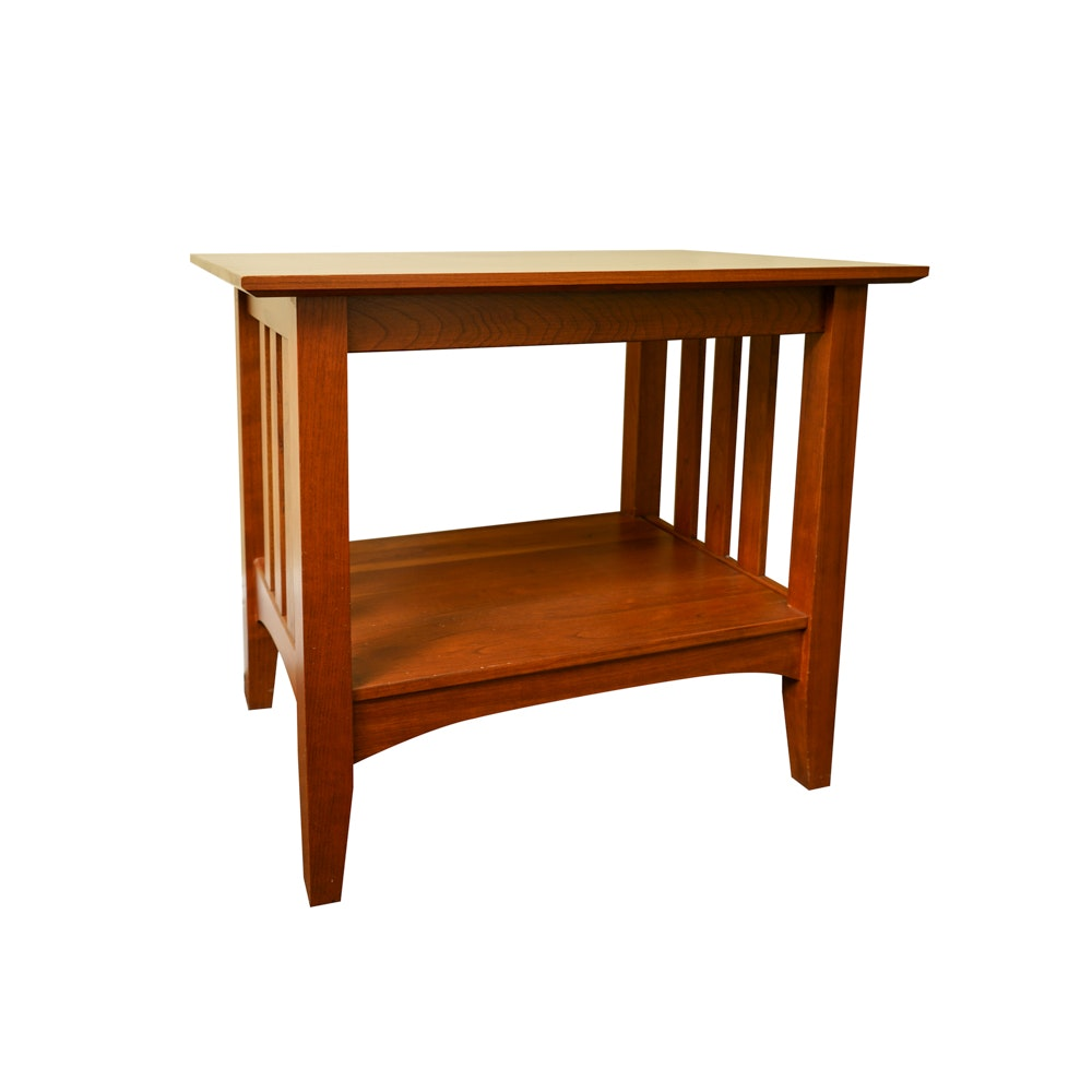 """Ethan Allen """"American Impressions"""" Mission Style End Table"""