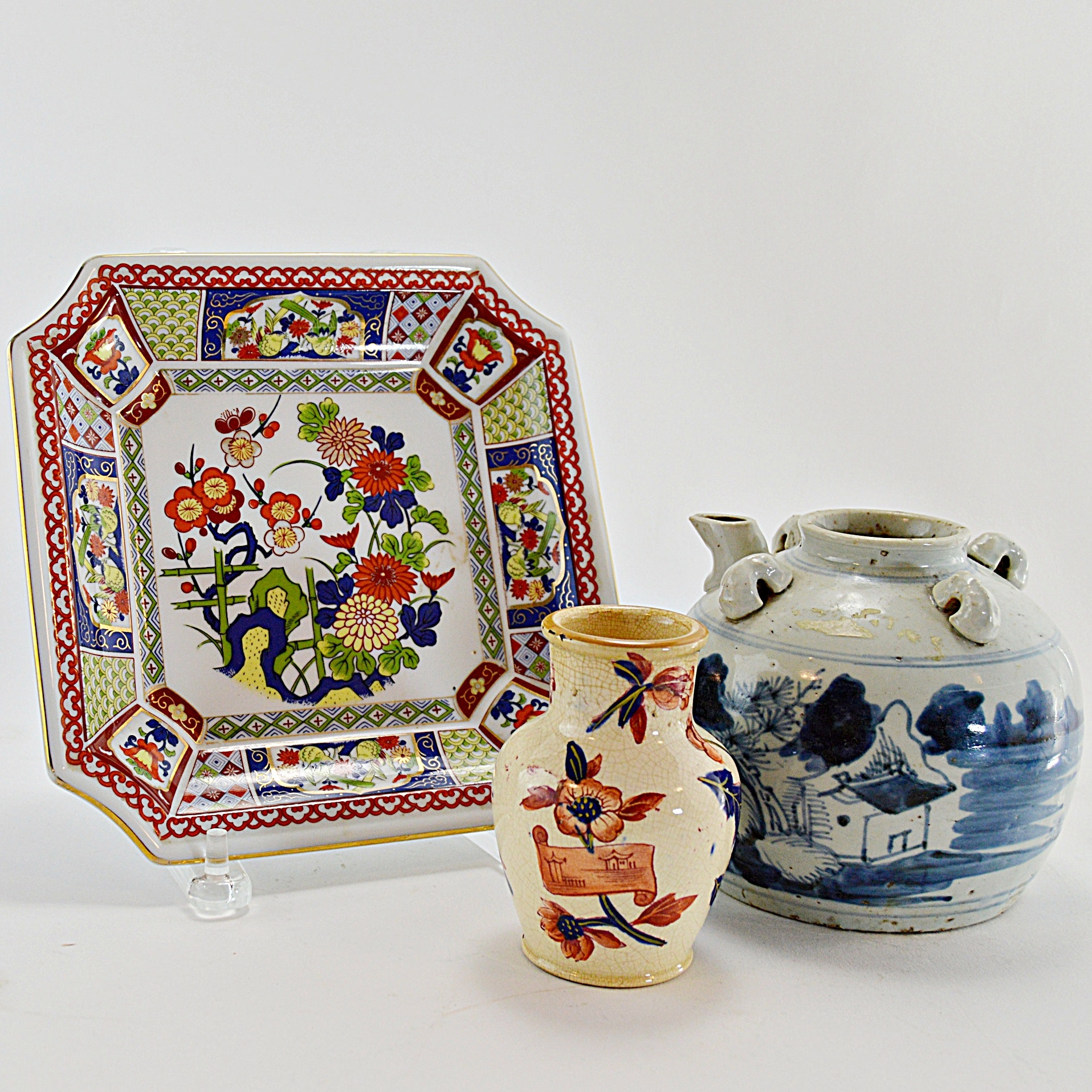 Vintage Asian Pottery and Porcelain