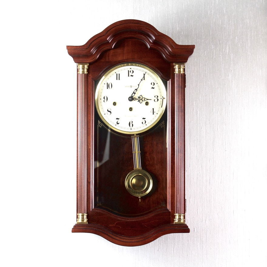 Howard Miller Pembrook Keywound Westminster Chime Wall Clock Ebth