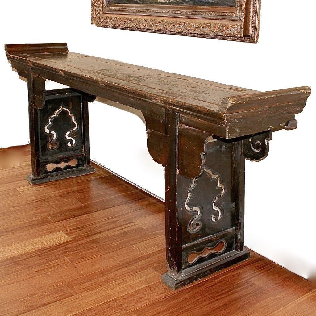 Arhaus Sino Tibetan Long Altar Table ...
