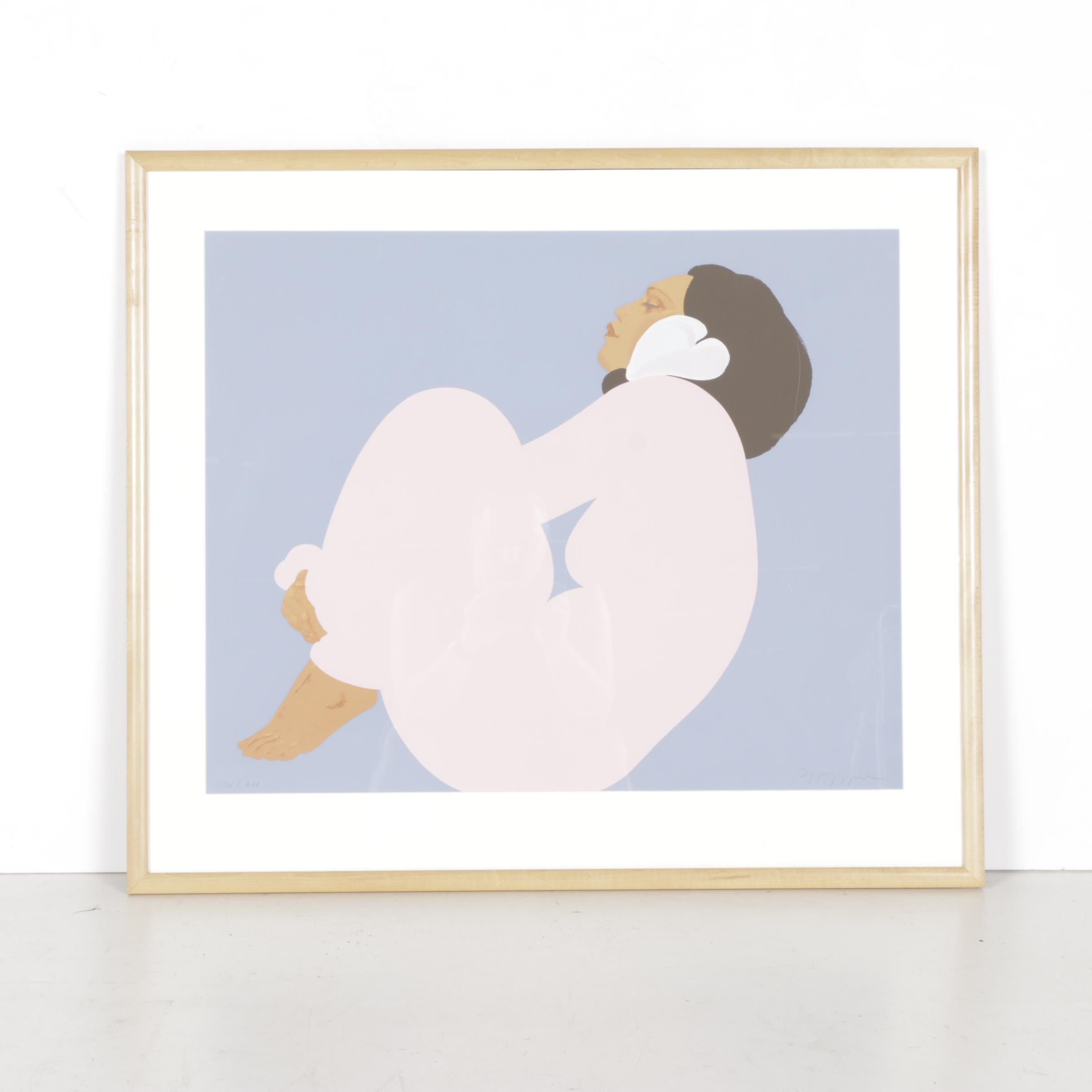 "Pegge Hopper Limited Edition Serigraph ""Mei"""