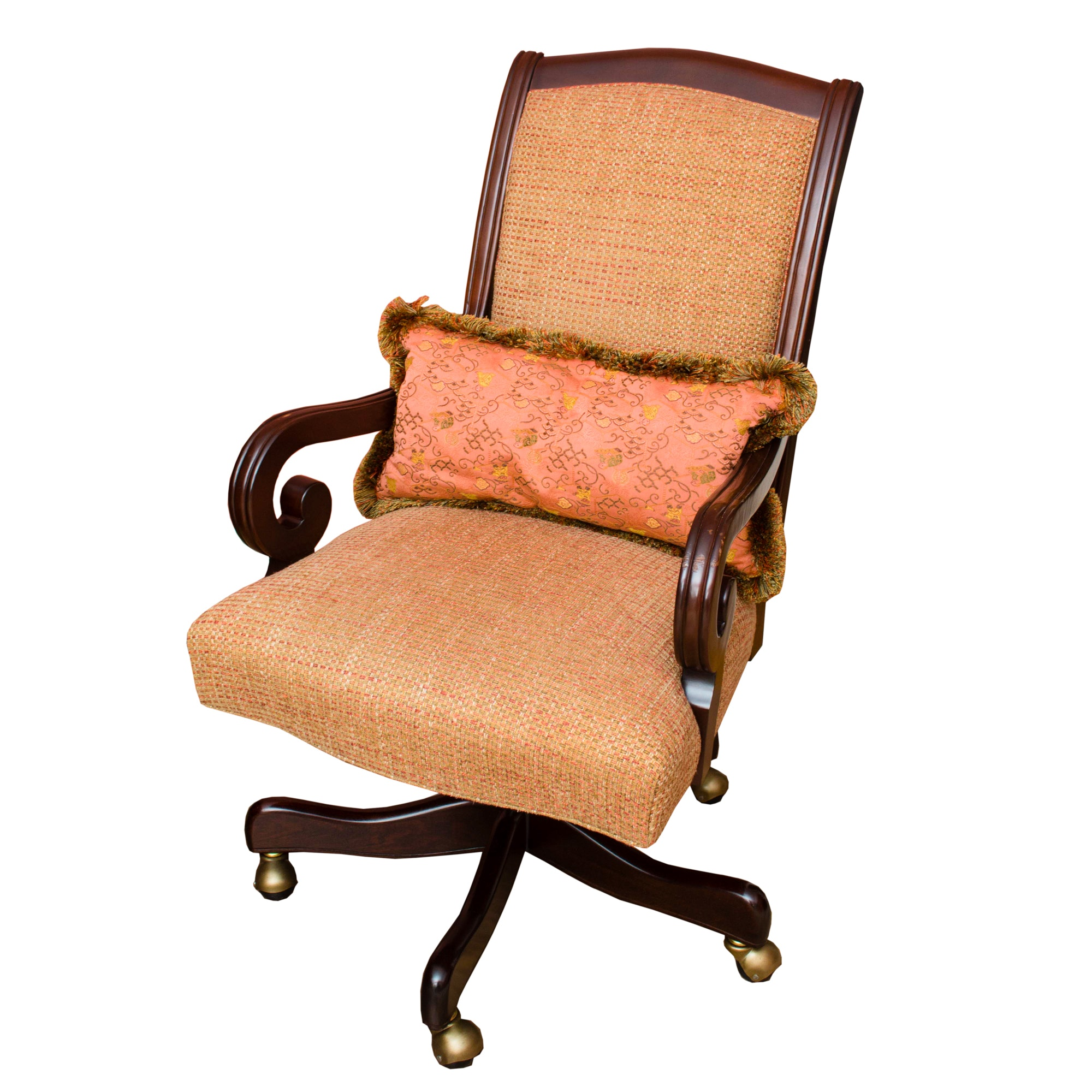 Hancock and Moore Mahogany Finished Desk Chair