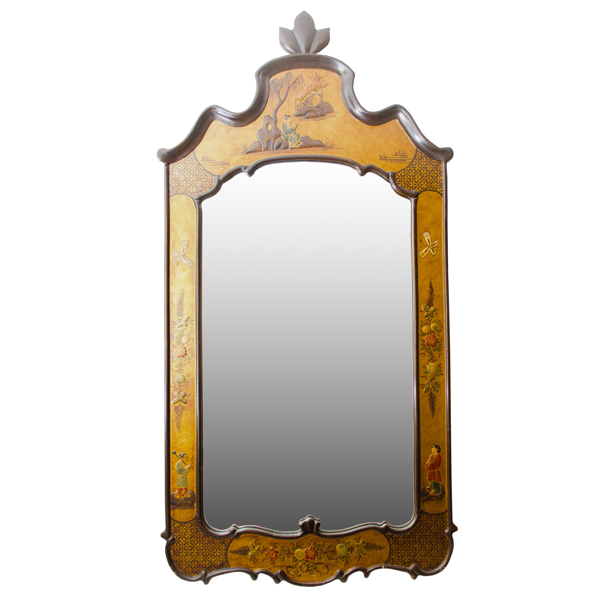 Chinoiserie Style Pier Mirror