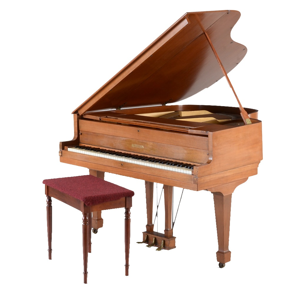 Vintage Chickering Baby Grand Piano