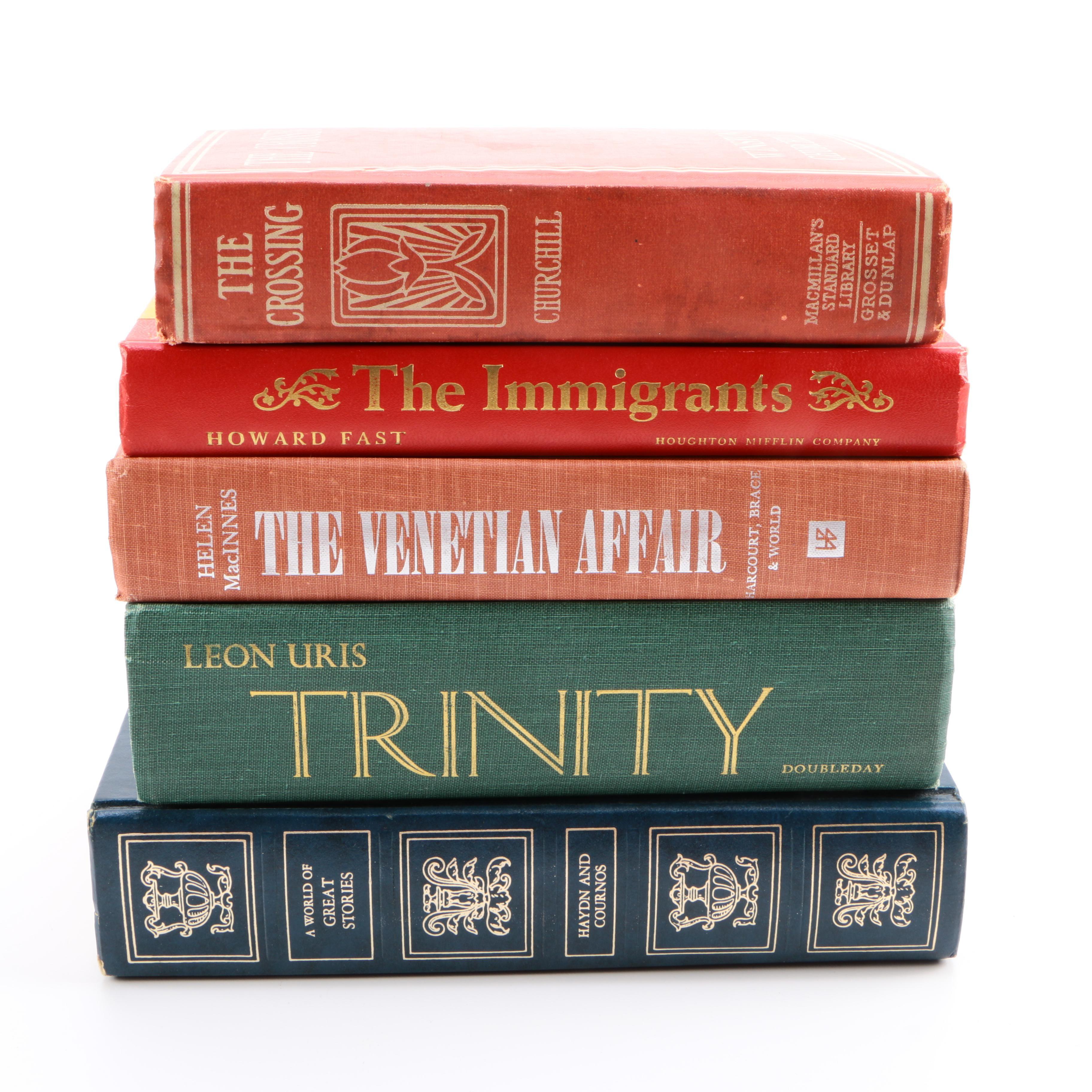 Assortment of Fiction Books