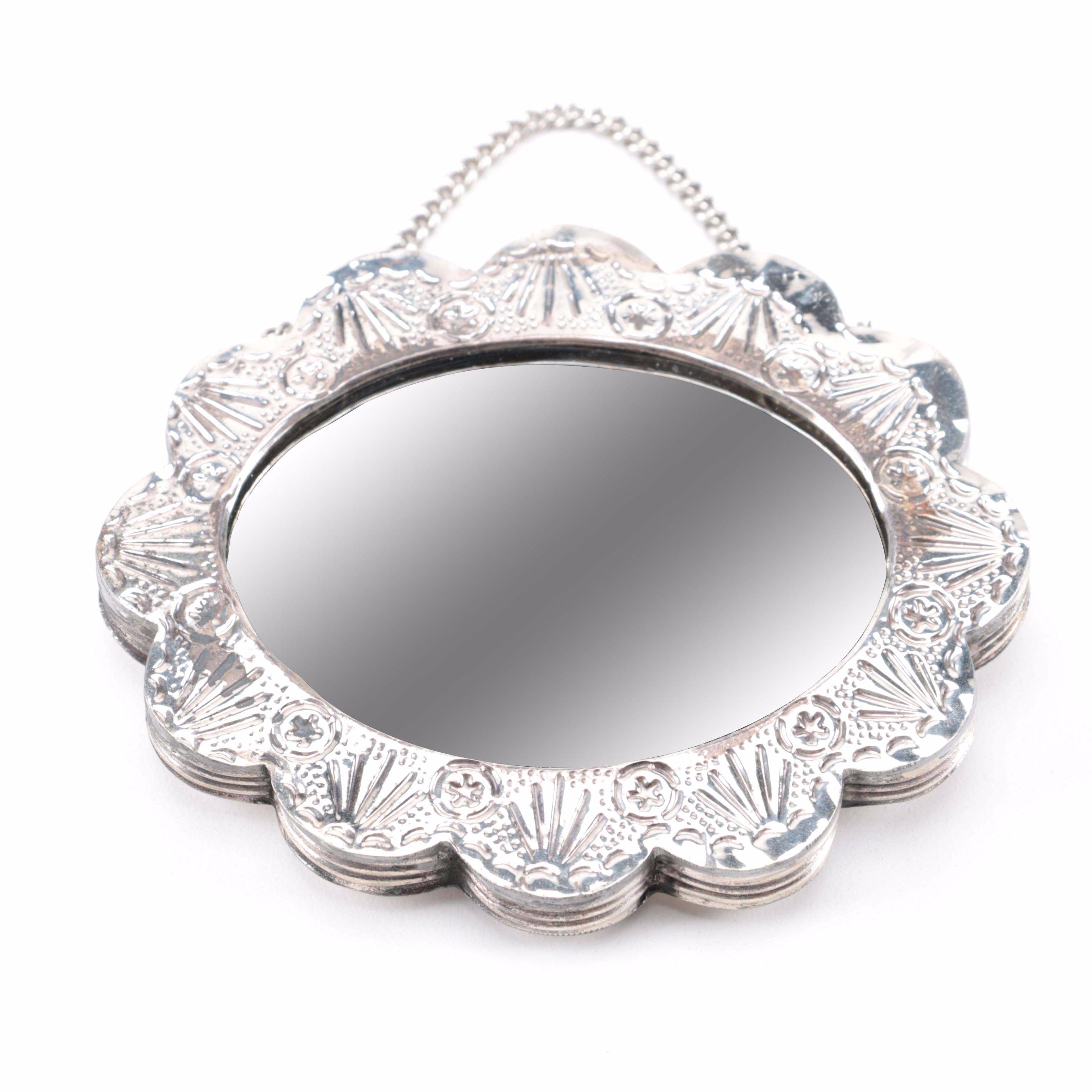 Bedo Turkish 900 Silver Hanging Mirror