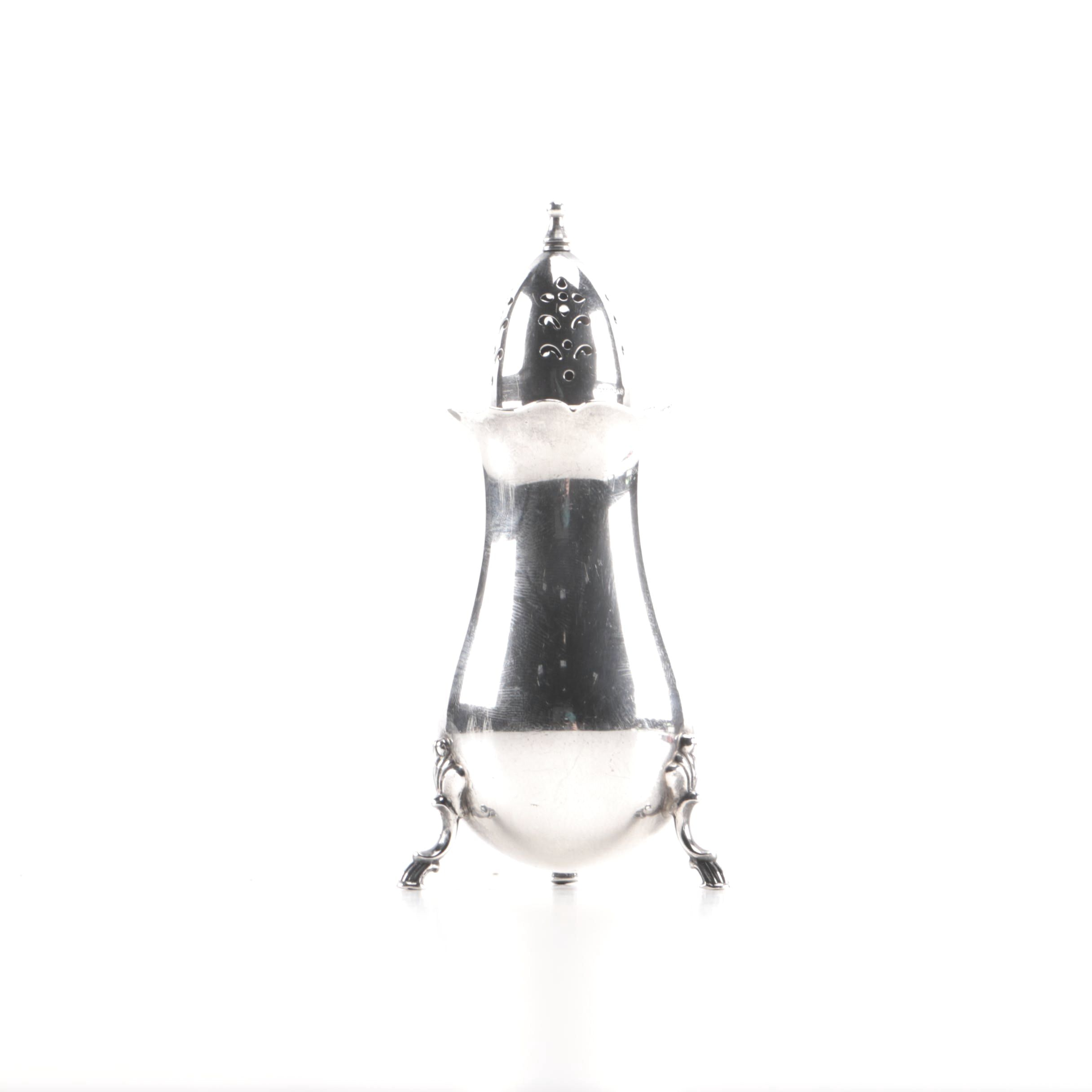 Sterling Silver Salt Shaker