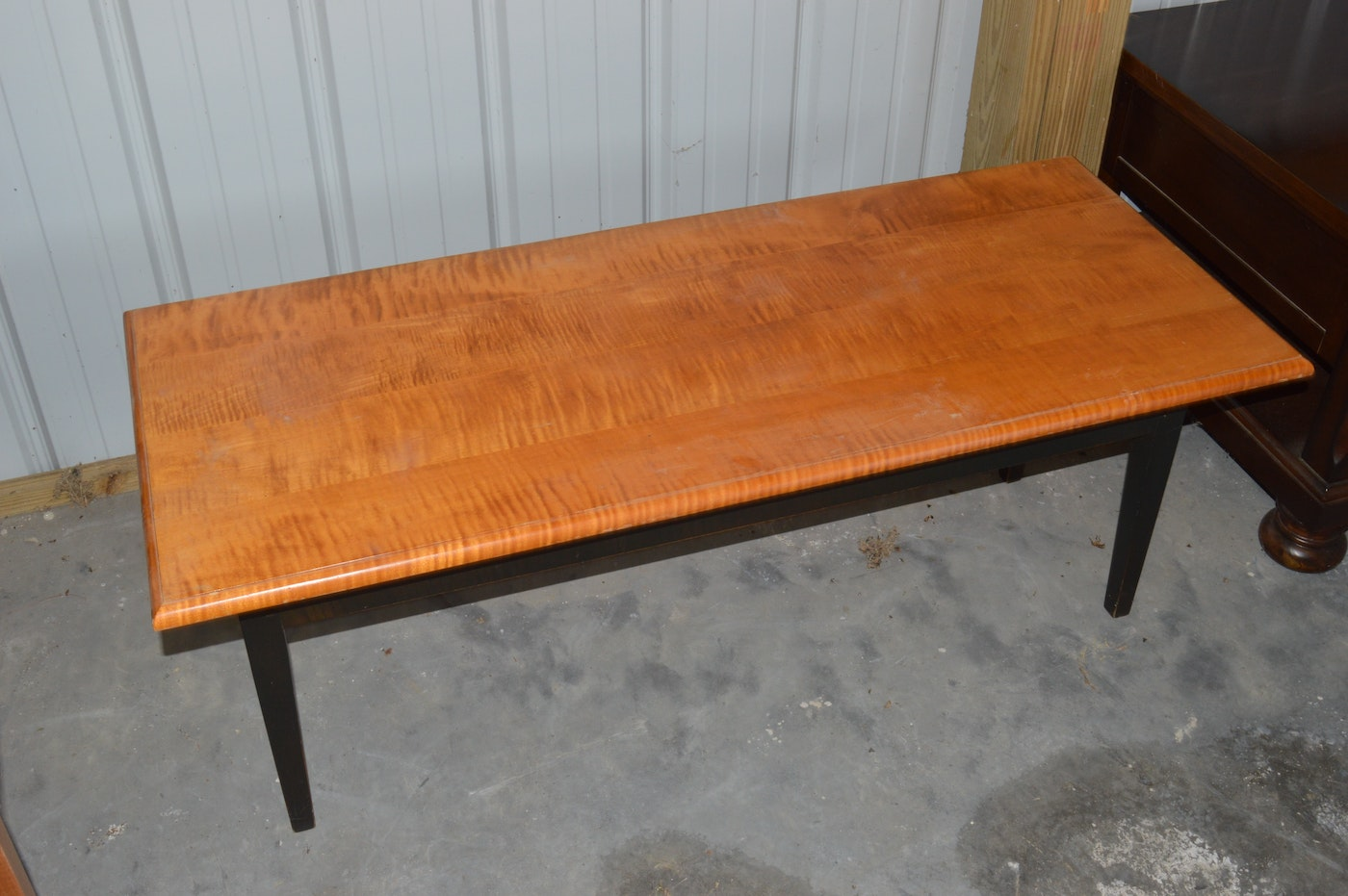Shaker Style Coffee Table And David T Smith Lamp Table Ebth