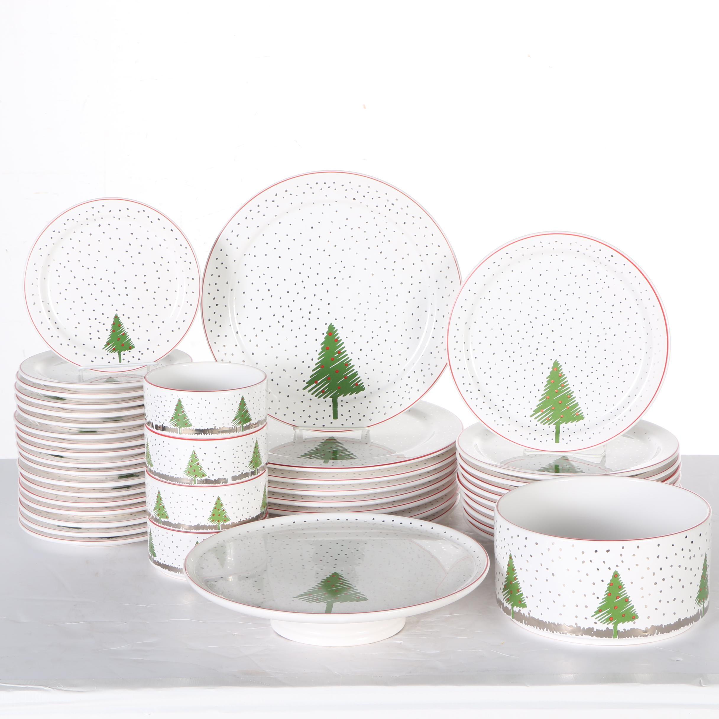 Waechtersbach  White Christmas  Dinnerware ...  sc 1 st  EBTH.com & Waechtersbach