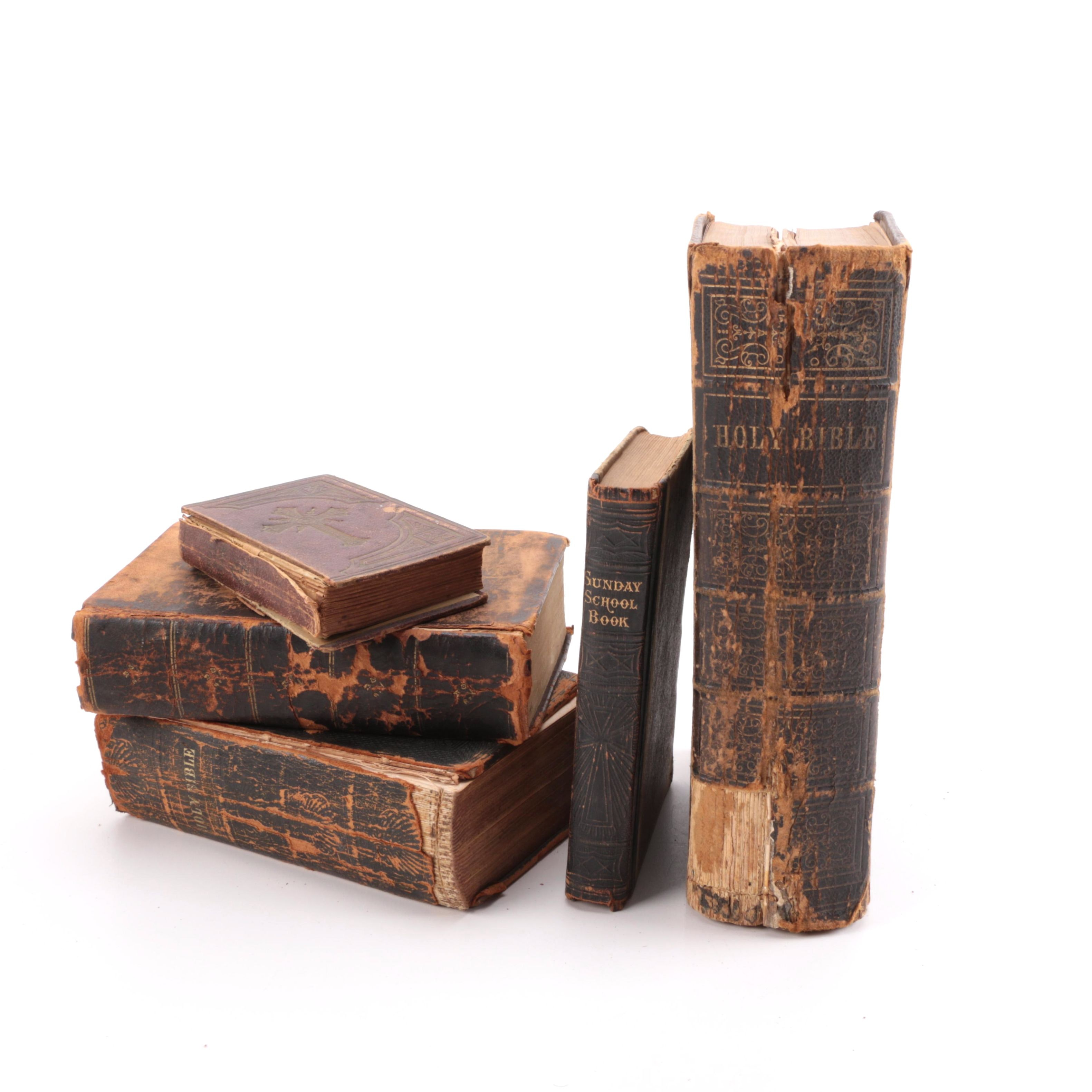Antique Bibles and Religious Text
