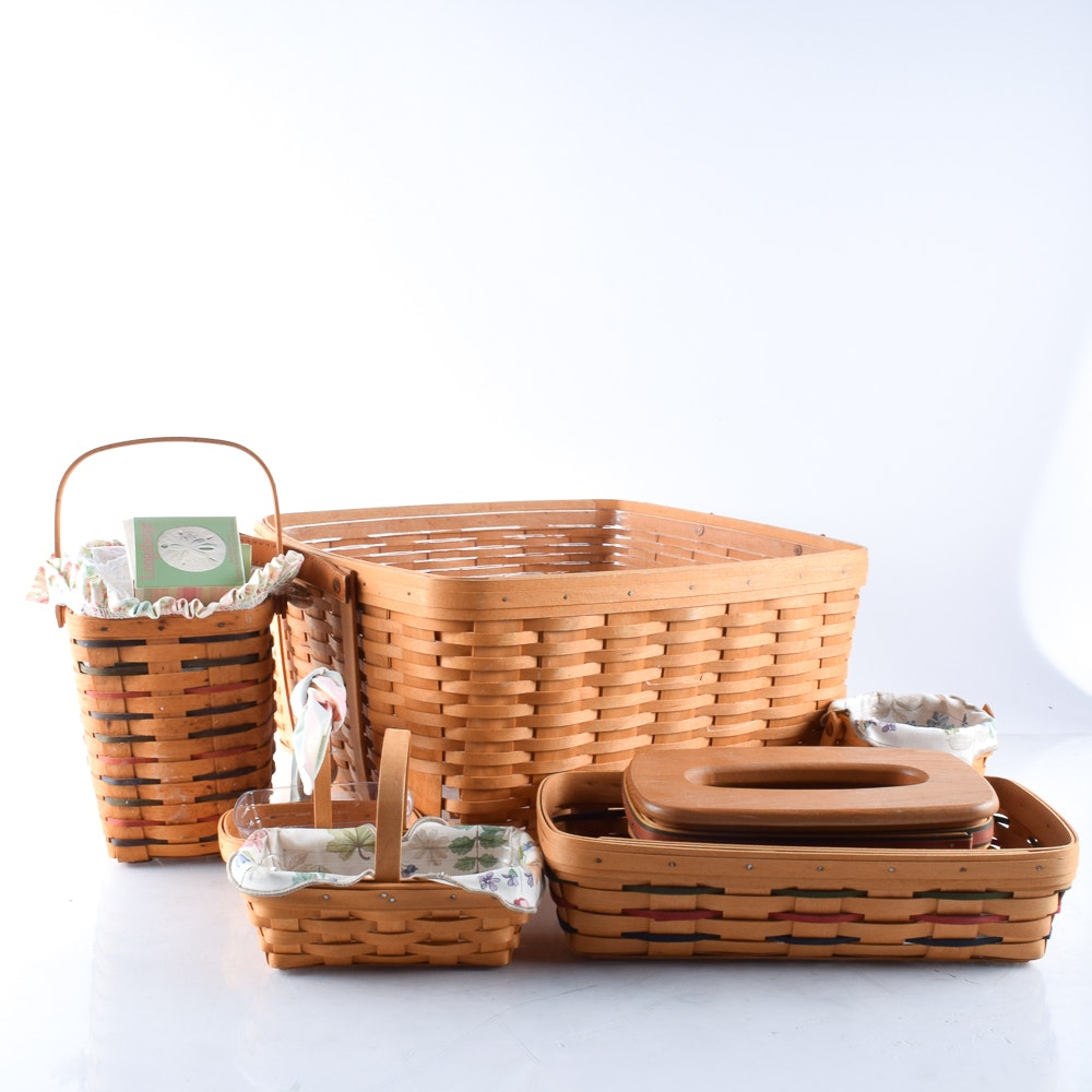 Handwoven Longaberger Baskets