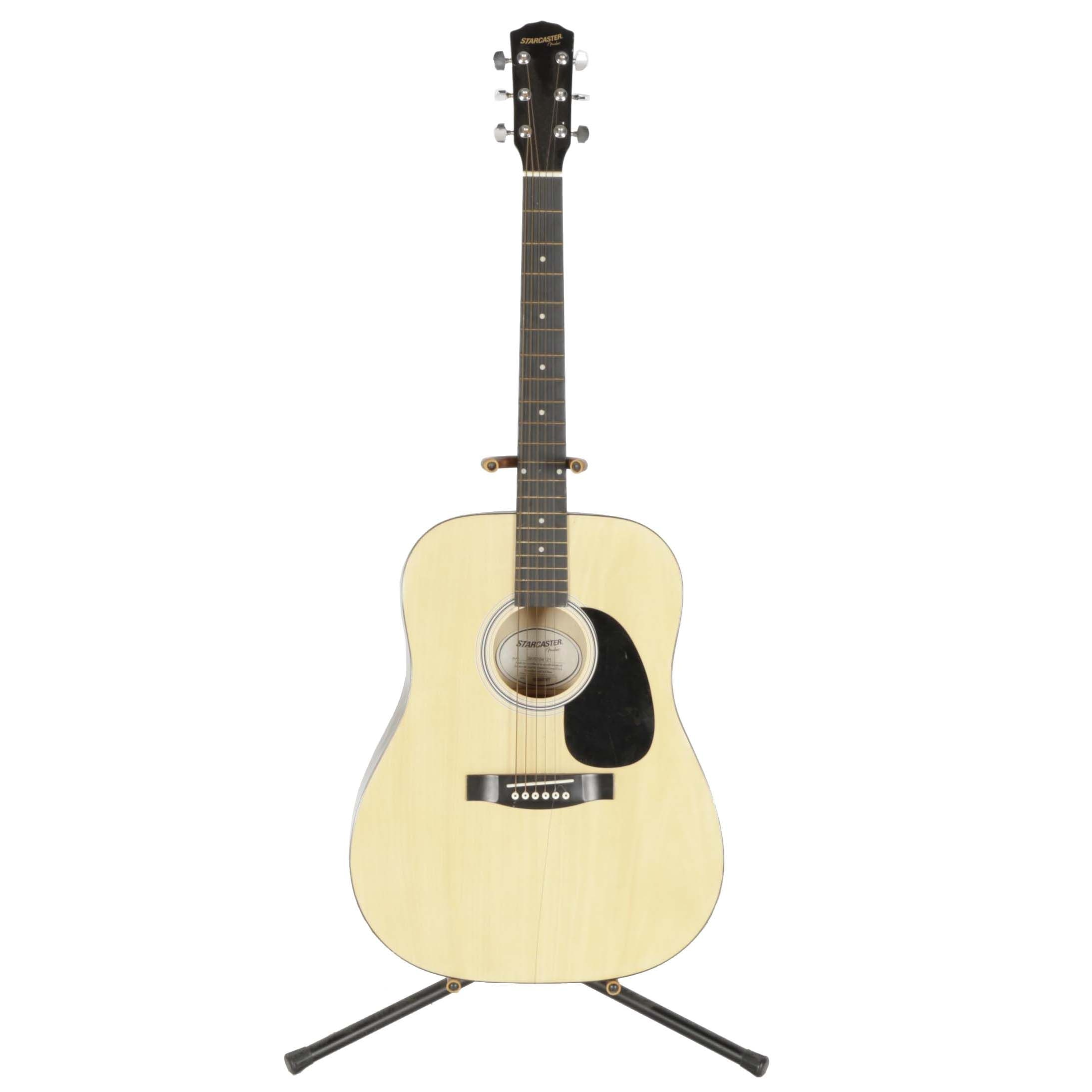 Fender Starcaster Dreadnought Style Acoustic Guitar