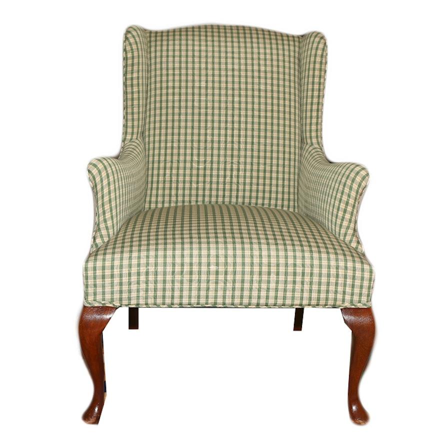 Plaid Arm Chair | EBTH