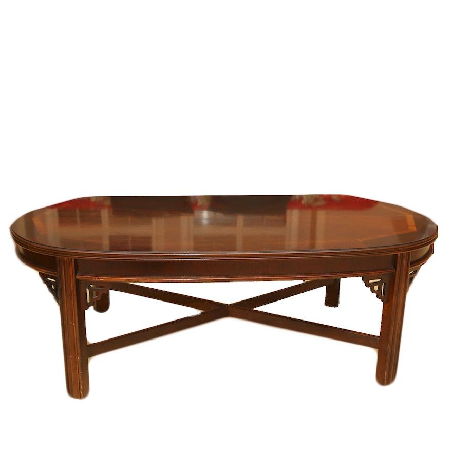Vintage Mahogany Coffee Table By Lane Furniture Ebth