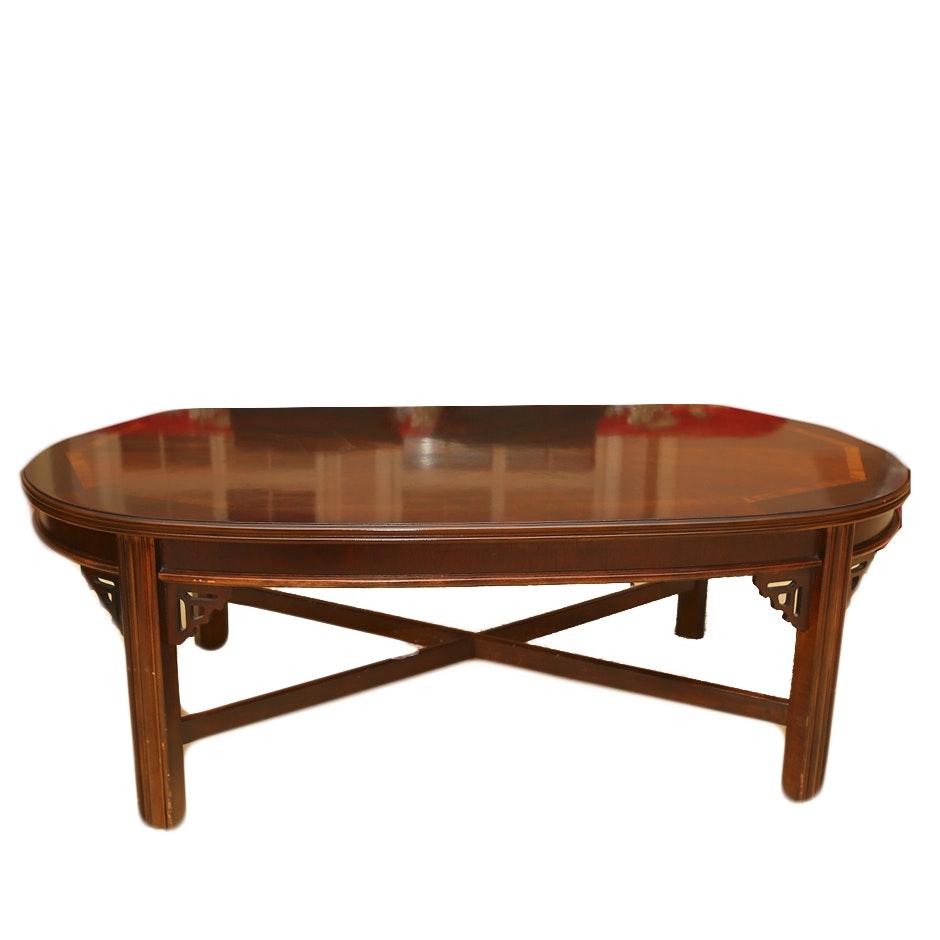 Vintage Mahogany Coffee Table By Lane Furniture ...